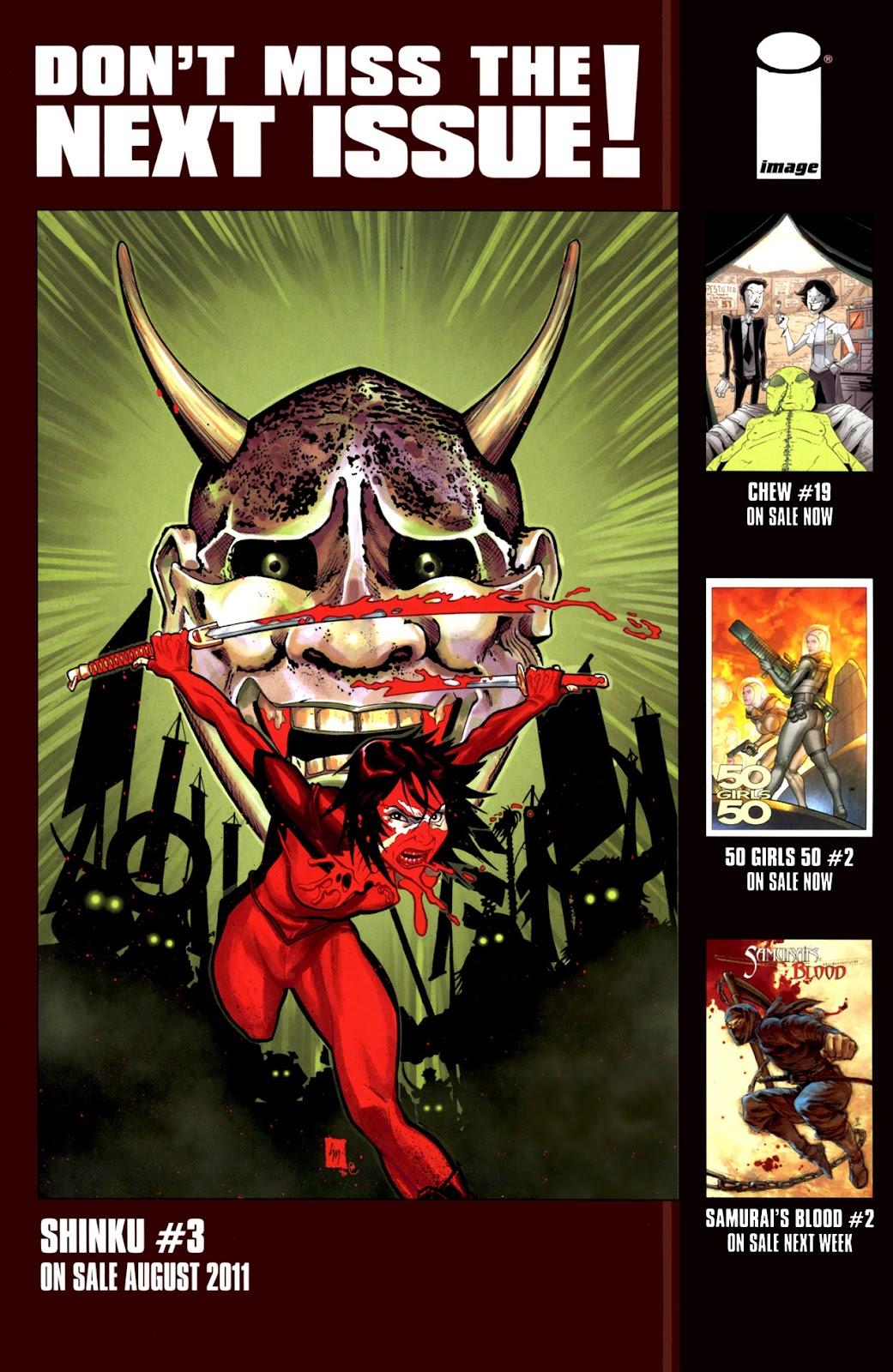 Read online Shinku comic -  Issue #2 - 25