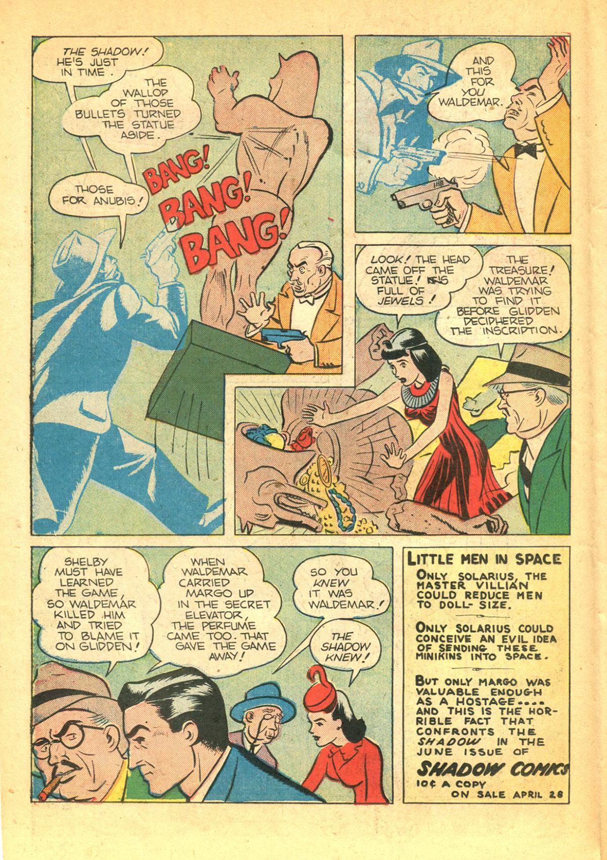 Read online Shadow Comics comic -  Issue #38 - 26