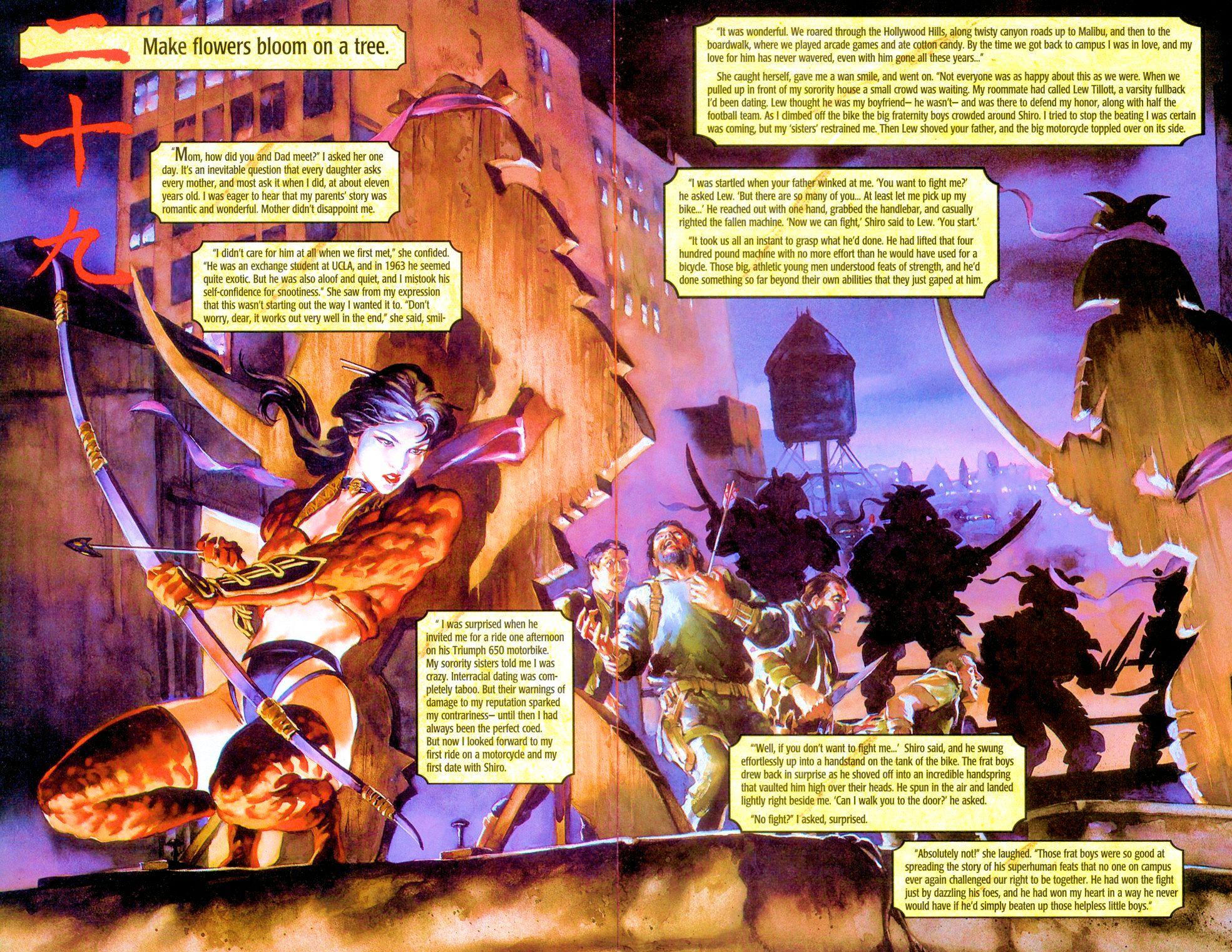 Read online Shi: Senryaku comic -  Issue #3 - 9