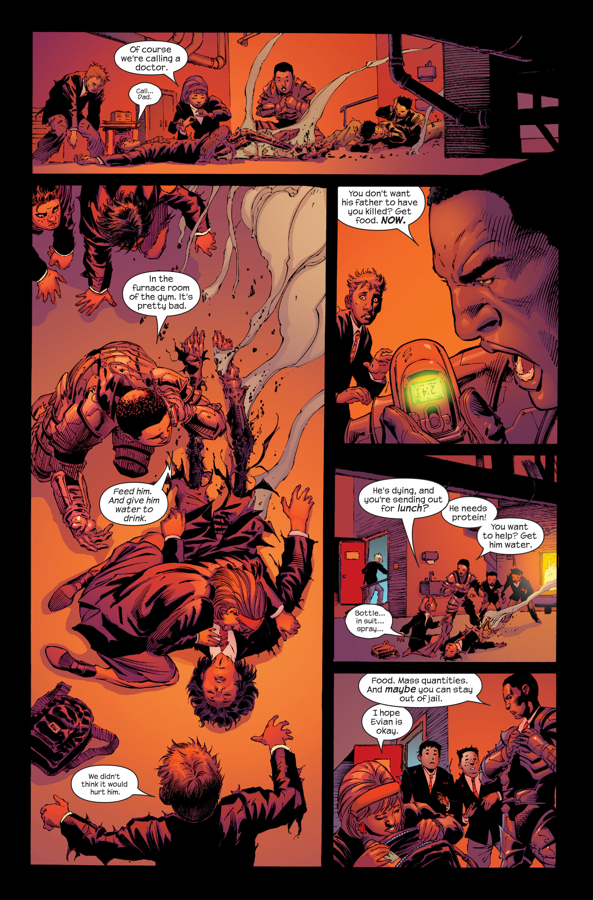 Read online Ultimate Iron Man (2005) comic -  Issue #4 - 8