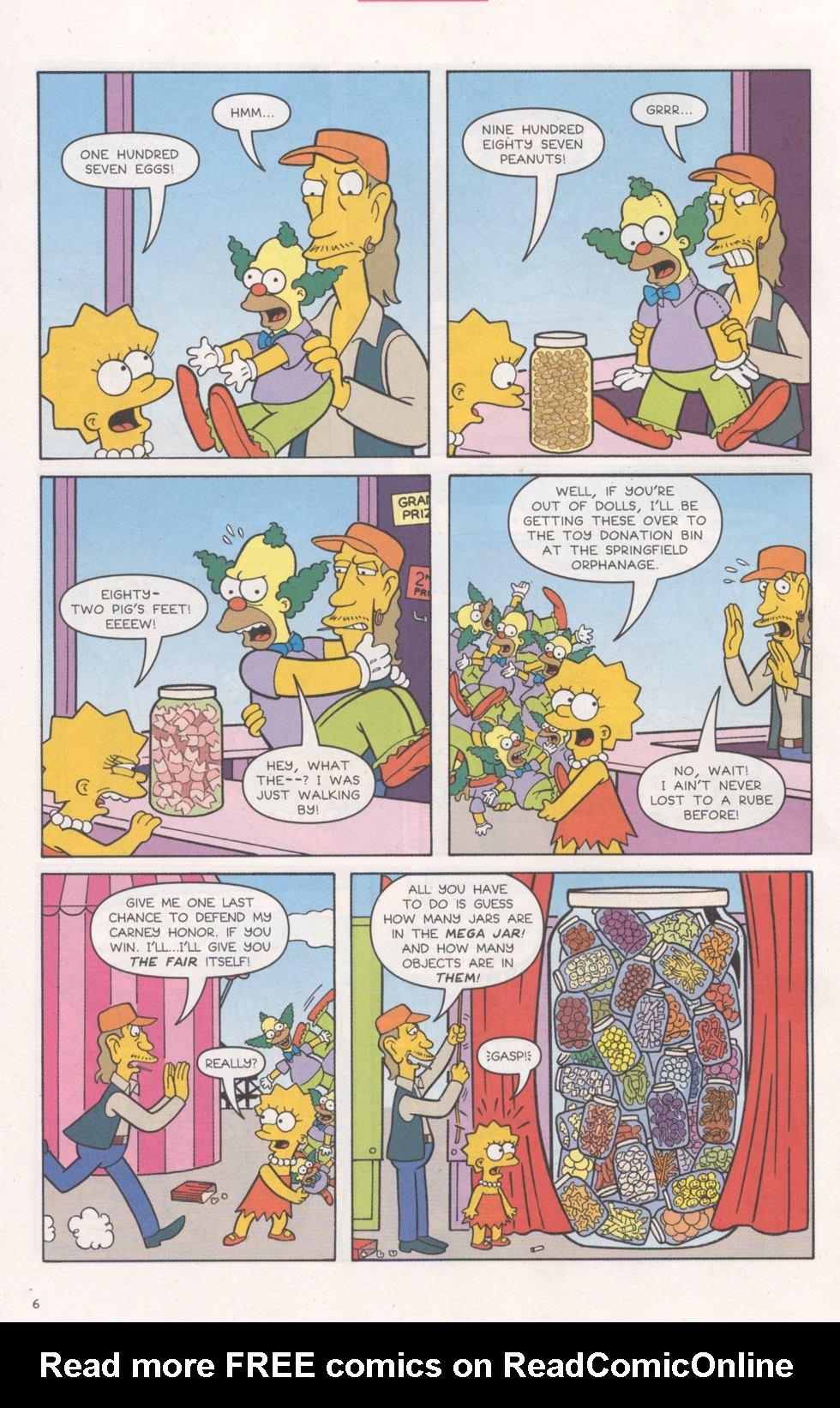 Read online Simpsons Comics comic -  Issue #93 - 7