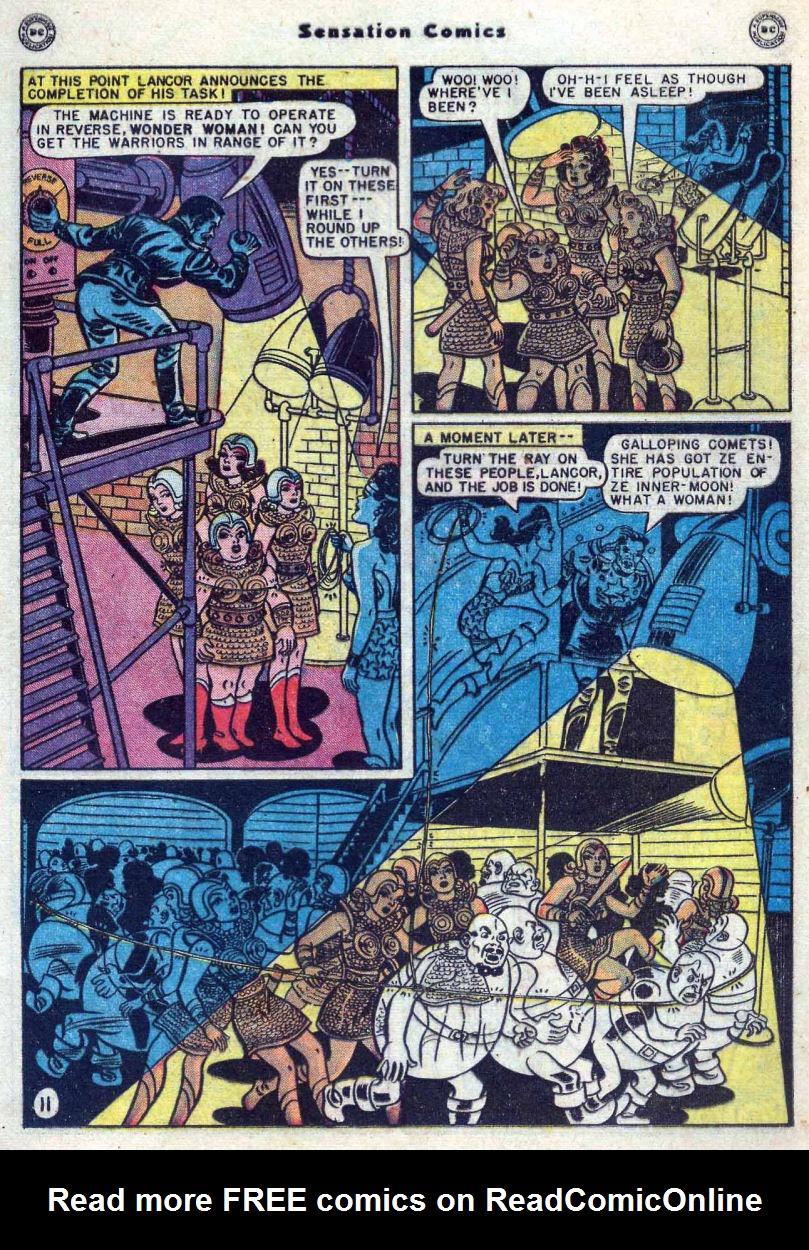 Read online Sensation (Mystery) Comics comic -  Issue #82 - 13