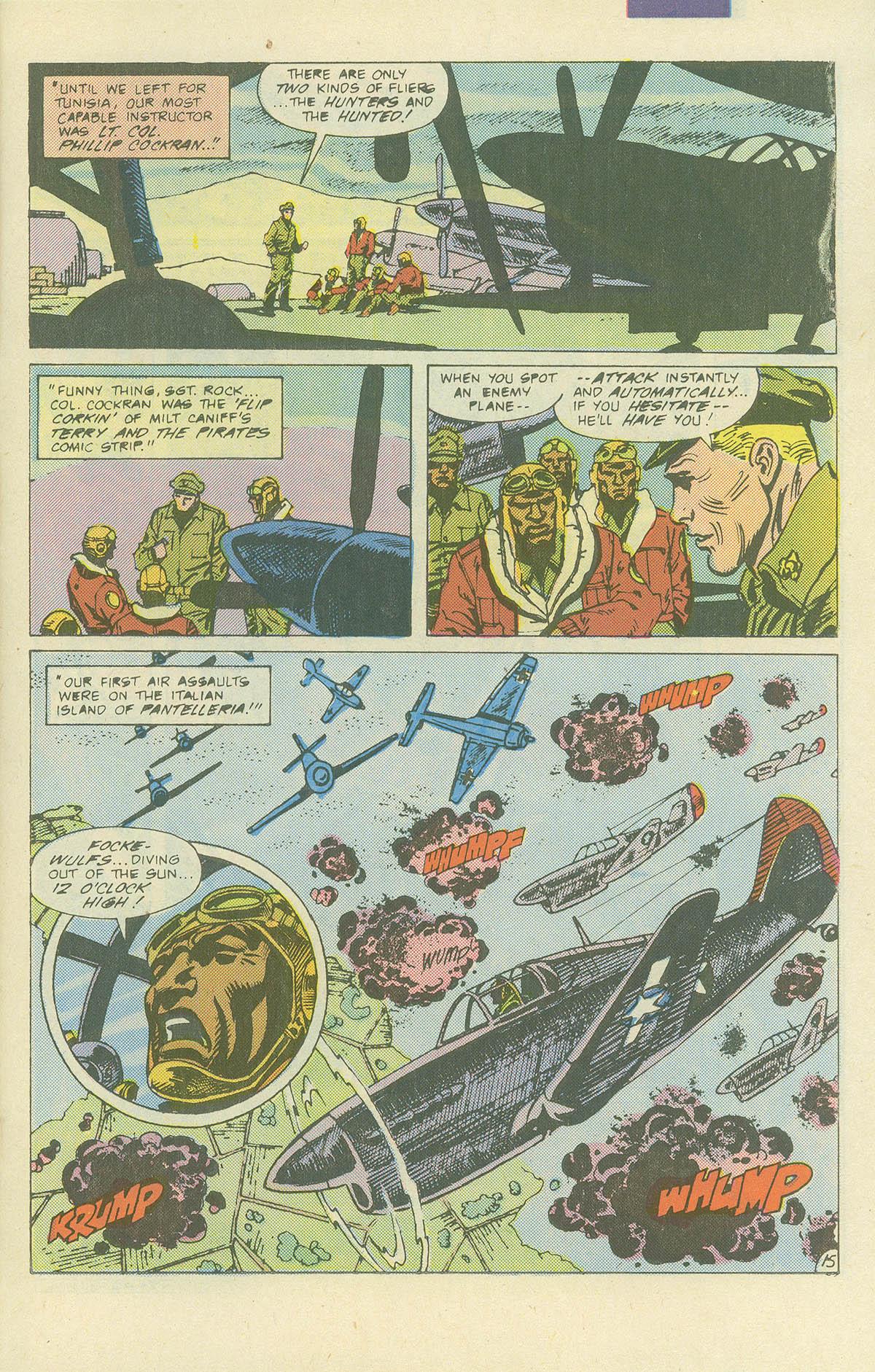 Read online Sgt. Rock comic -  Issue #405 - 20