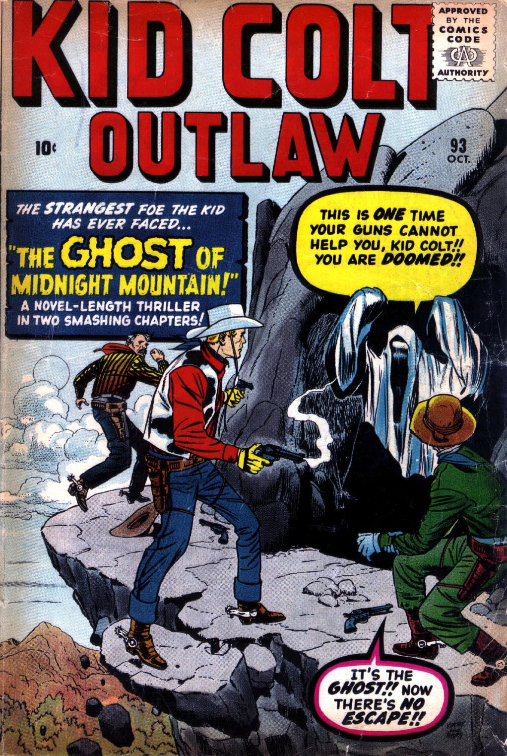 Kid Colt Outlaw issue 93 - Page 1