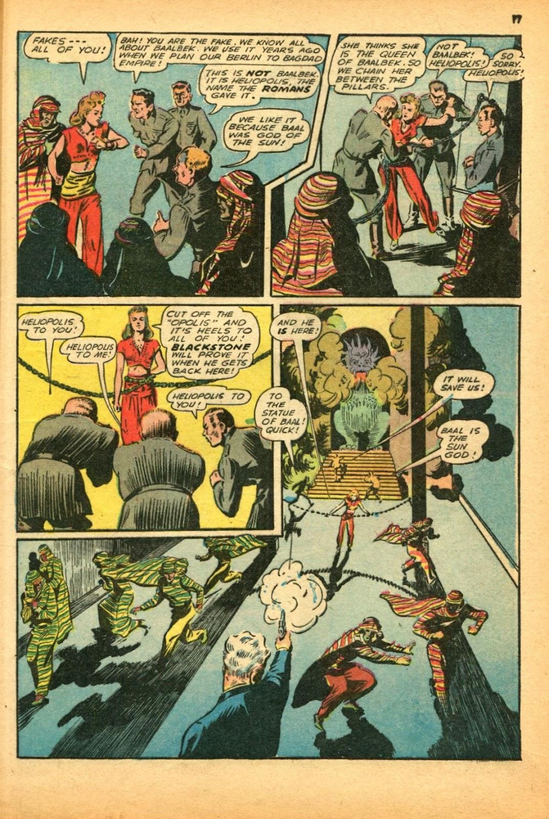Read online Super-Magician Comics comic -  Issue #12 - 17