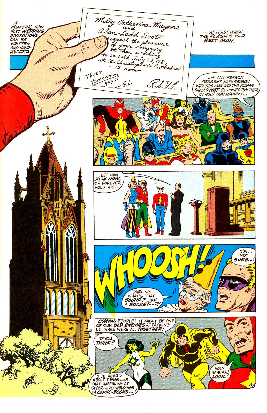 Infinity Inc. (1984) issue Annual 1 - Page 45