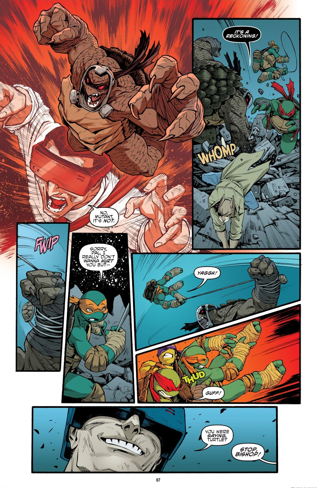 Read online Teenage Mutant Ninja Turtles: The IDW Collection comic -  Issue # TPB 9 (Part 1) - 88