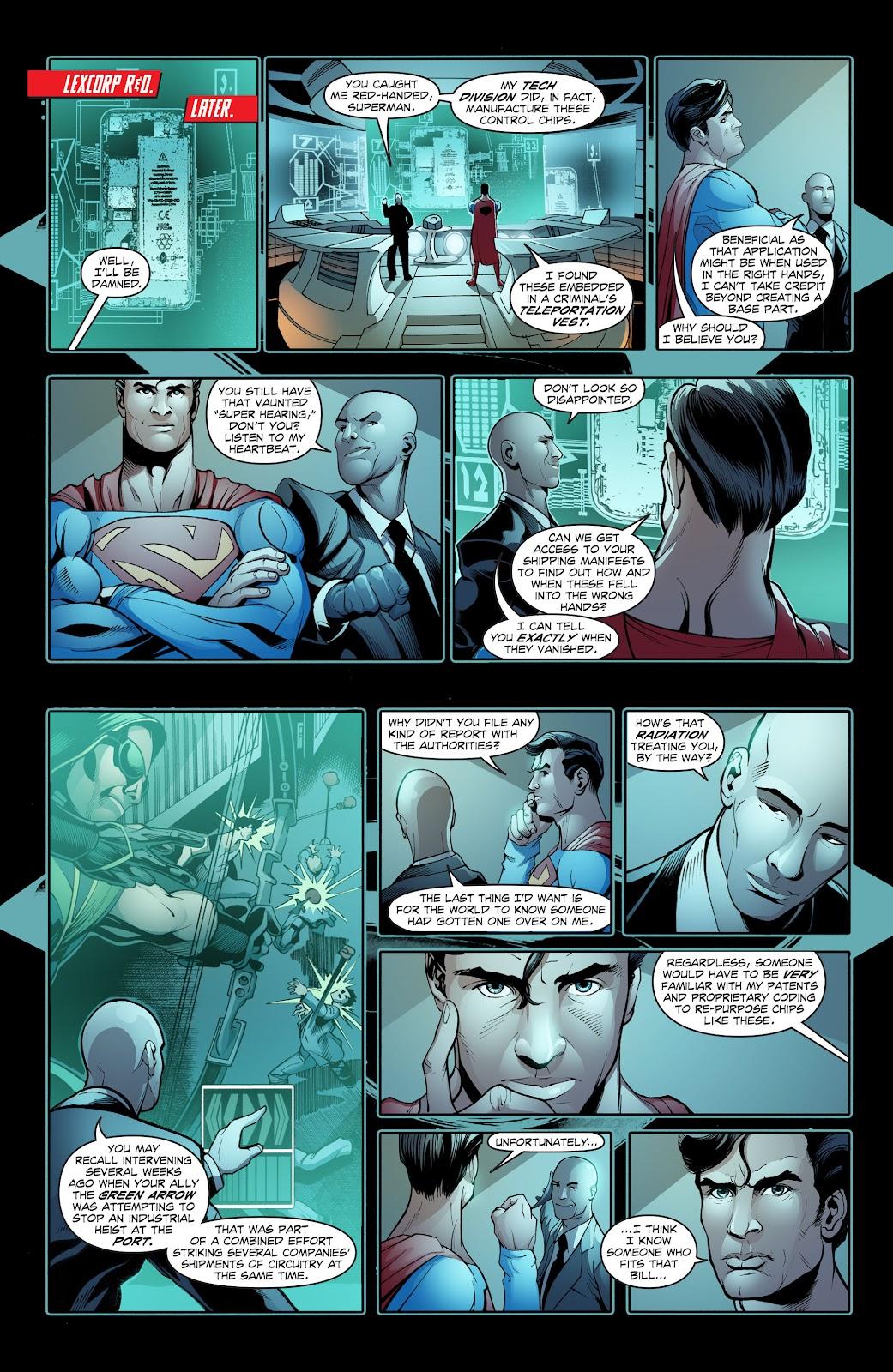 Read online Smallville Season 11 [II] comic -  Issue # TPB 2 - 32