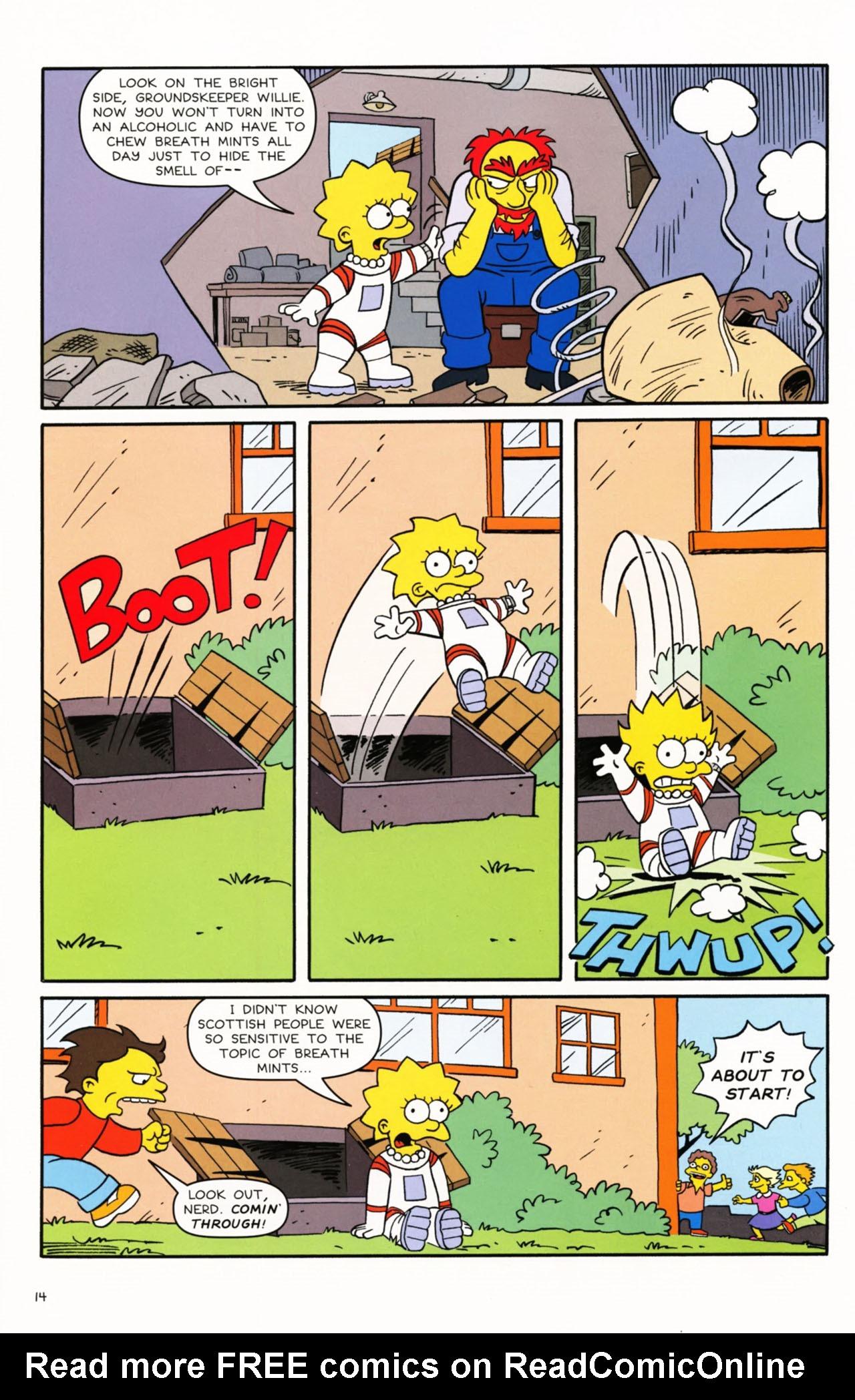 Read online Simpsons Comics Presents Bart Simpson comic -  Issue #53 - 16