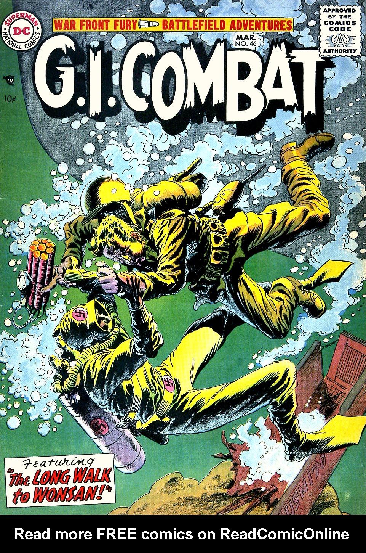 G.I. Combat (1952) 46 Page 1