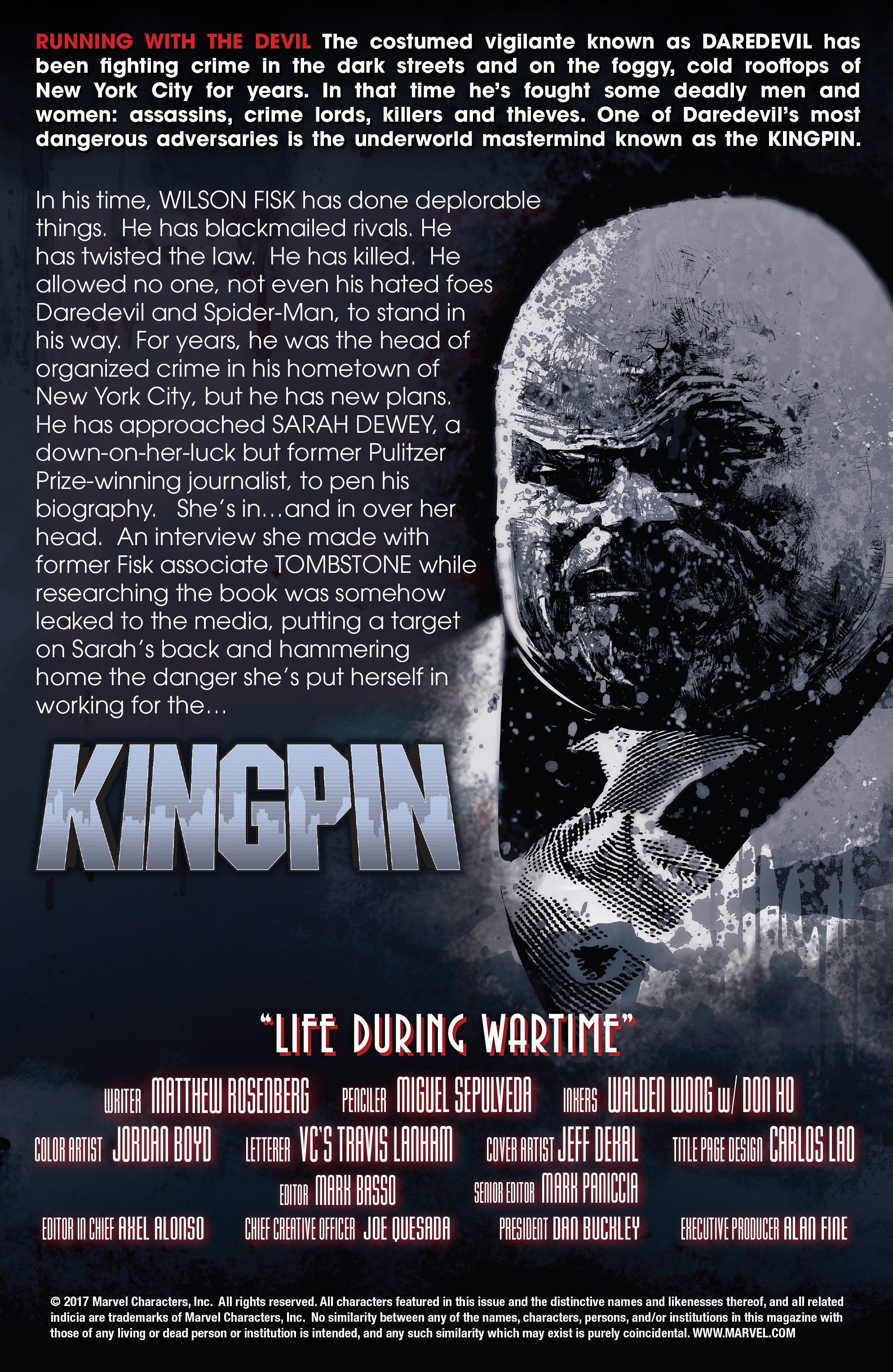 Read online Kingpin (2017) comic -  Issue #4 - 6