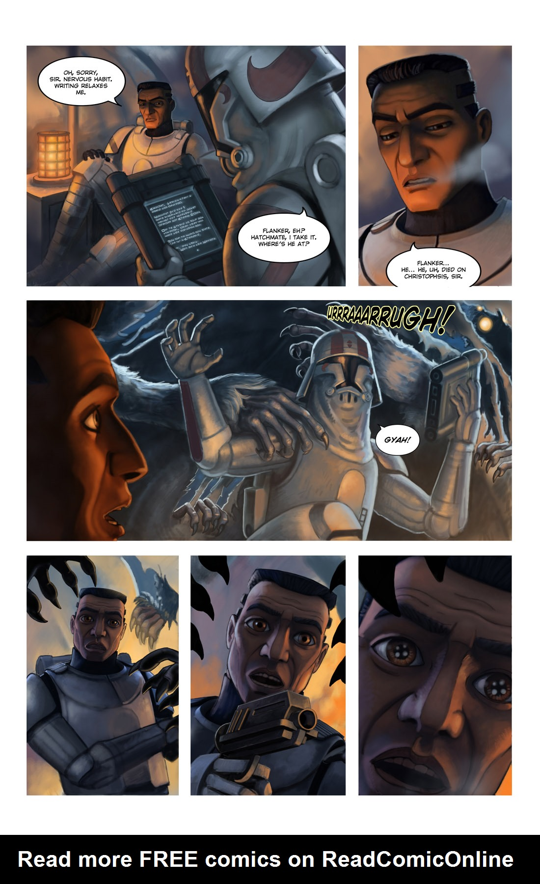 Read online Star Wars: Tales From The Clone Wars comic -  Issue # TPB - 107