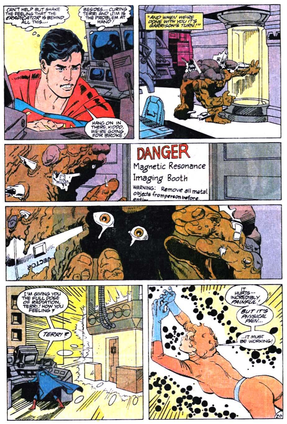Read online Adventures of Superman (1987) comic -  Issue #466 - 21