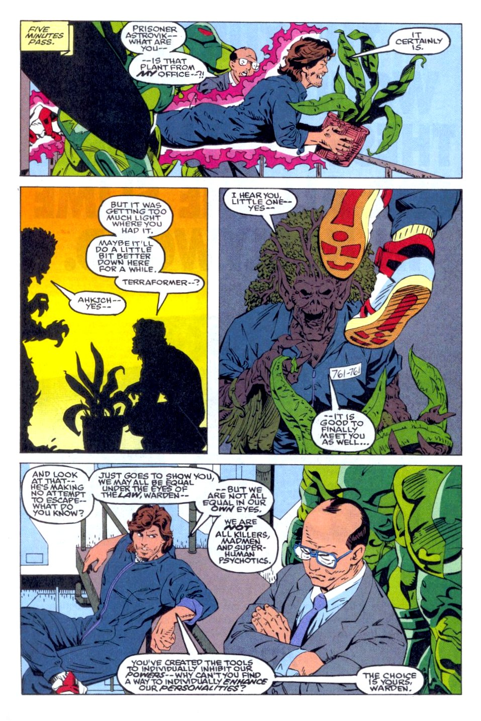 The New Warriors Issue #36 #40 - English 21