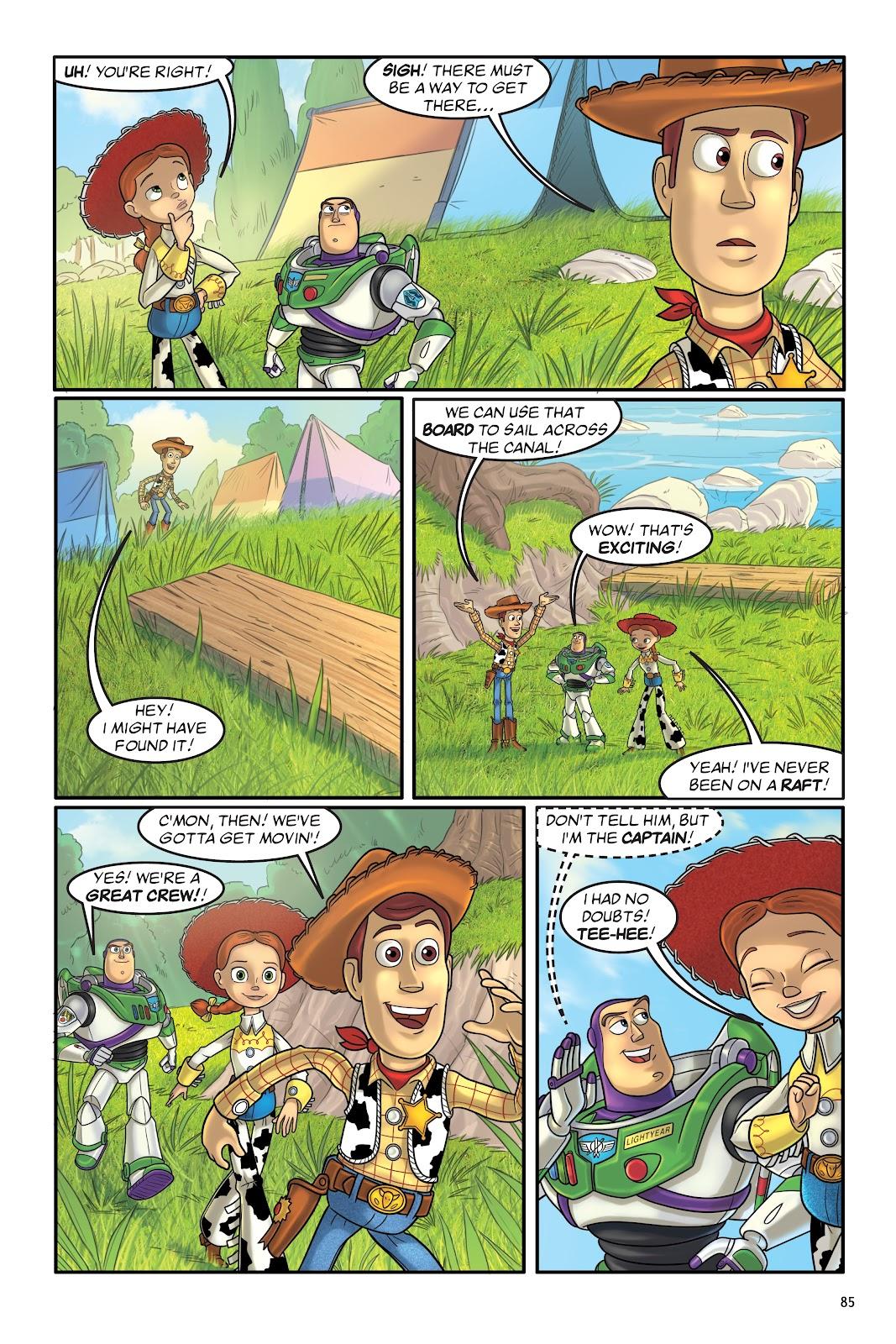 Read online DISNEY·PIXAR Toy Story Adventures comic -  Issue # TPB 1 (Part 1) - 85