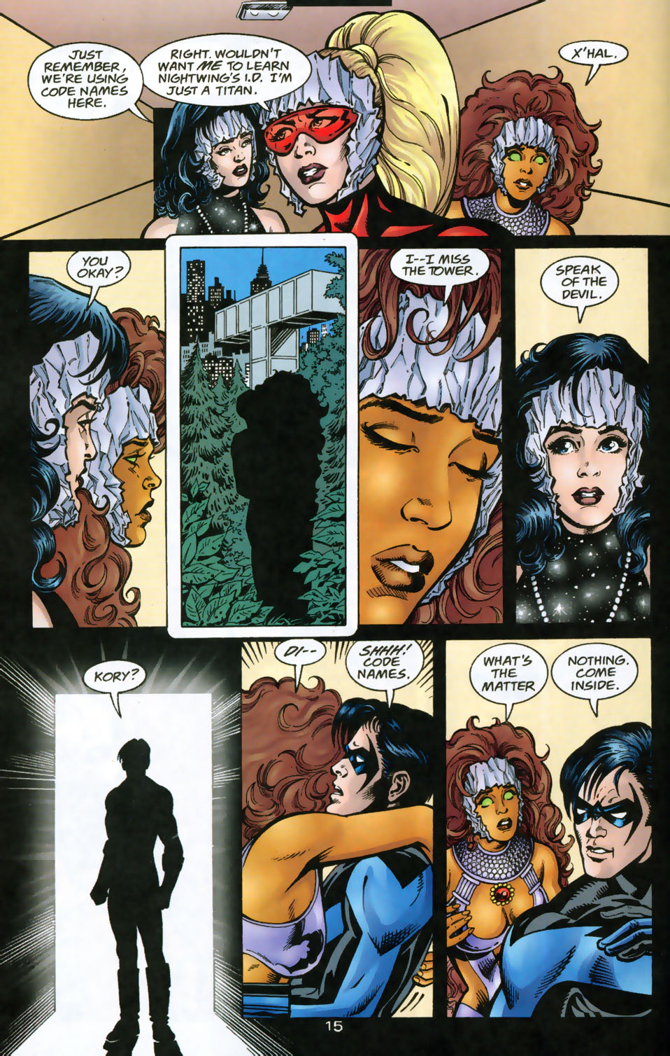 Read online The Titans (1999) comic -  Issue #49 - 16