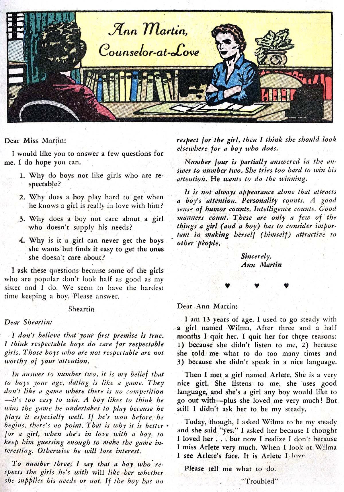 Read online Secret Hearts comic -  Issue #82 - 25