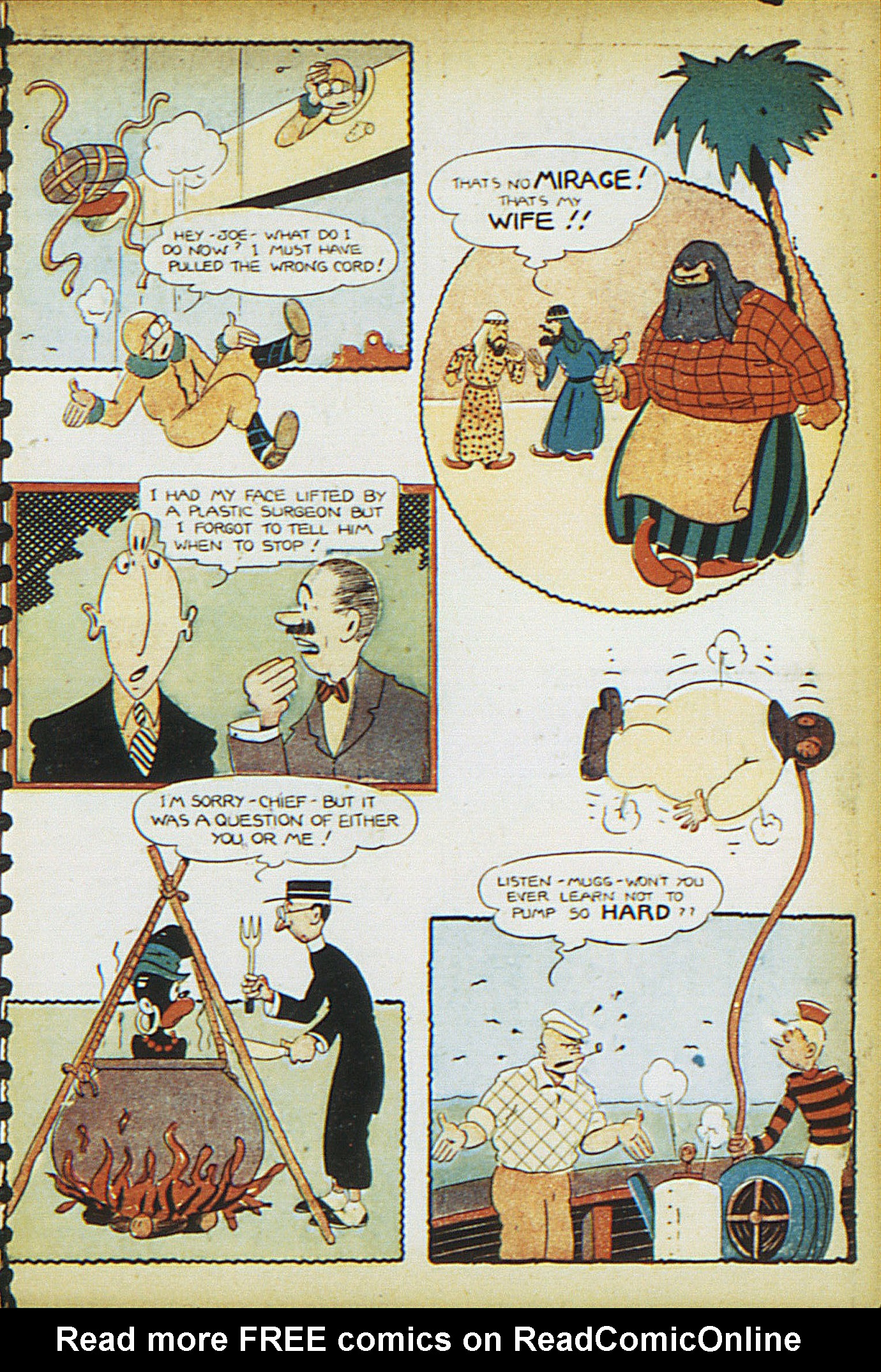 Read online Adventure Comics (1938) comic -  Issue #15 - 35