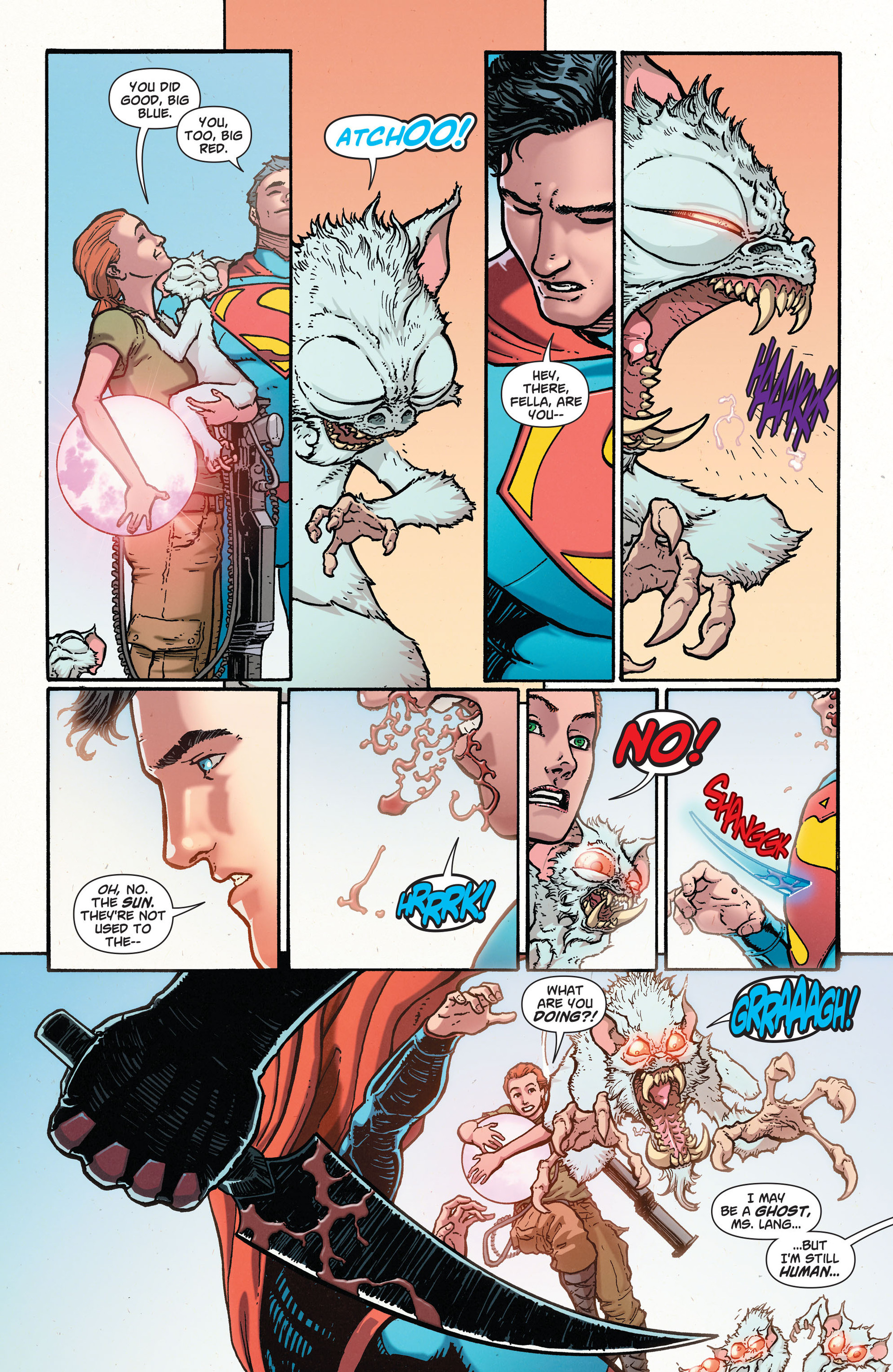 Read online Action Comics (2011) comic -  Issue #28 - 22