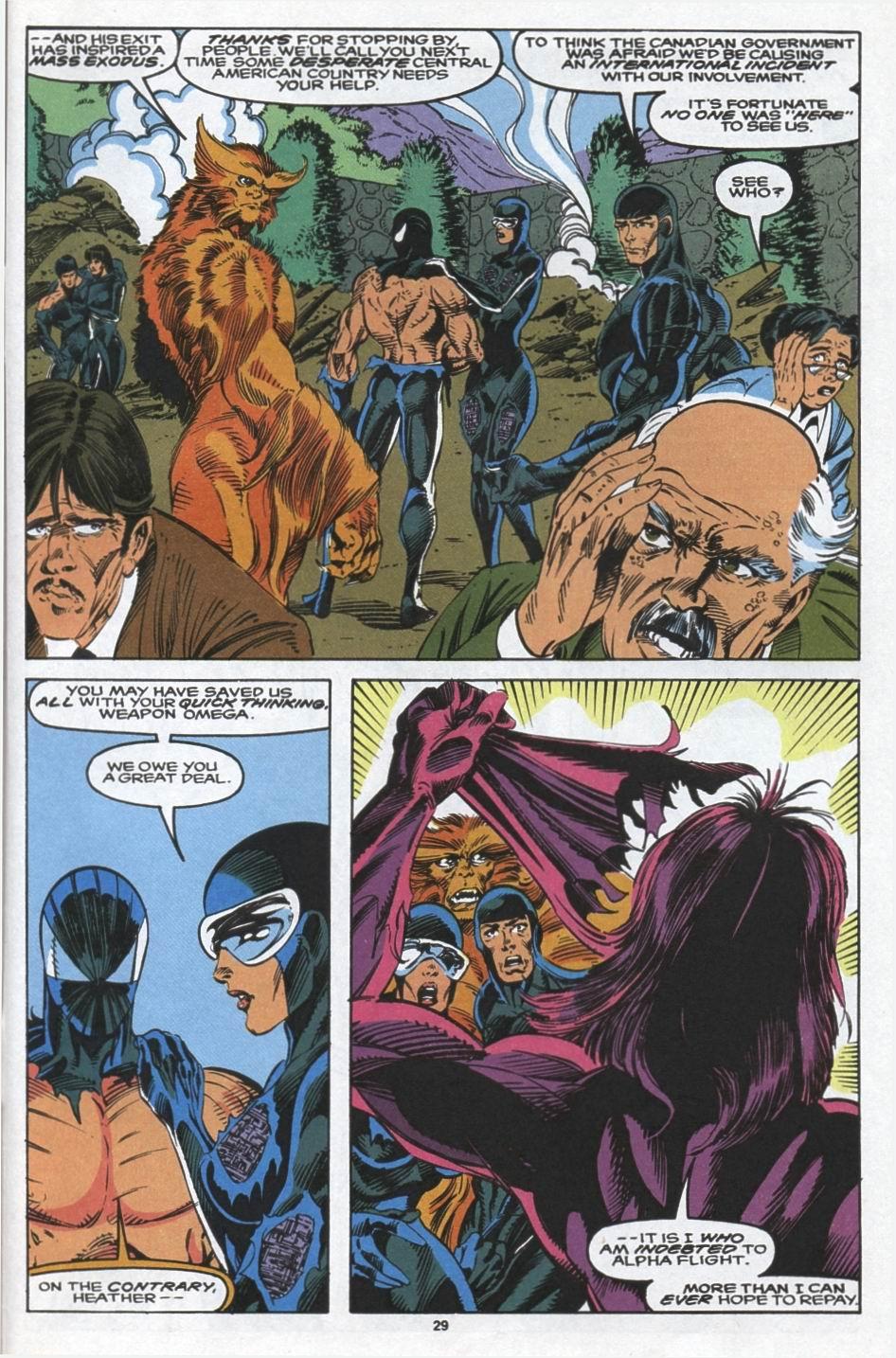 Read online Alpha Flight (1983) comic -  Issue #103 - 22
