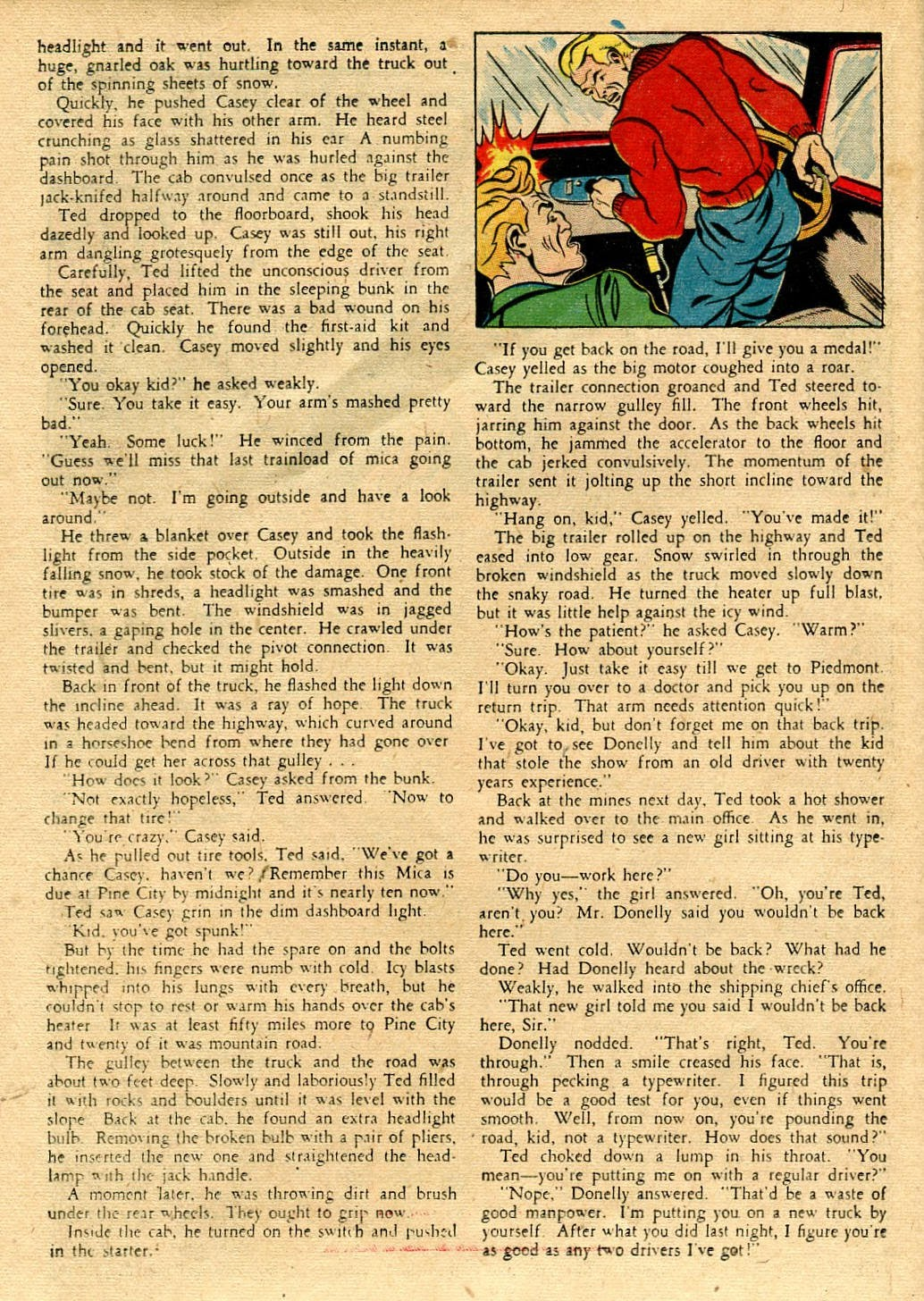 Read online Famous Funnies comic -  Issue #116 - 36