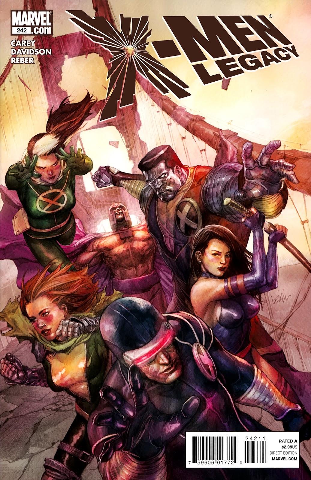 X-Men Legacy (2008) 242 Page 1
