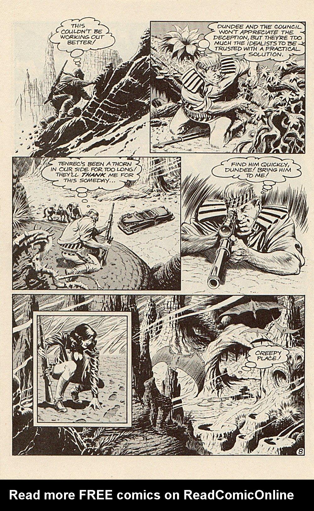 Read online Xenozoic Tales comic -  Issue #3 - 11