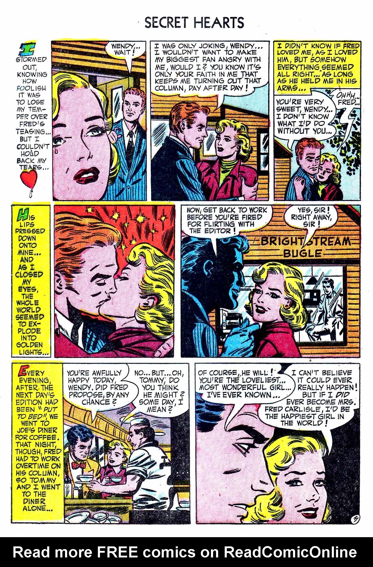 Read online Secret Hearts comic -  Issue #8 - 20
