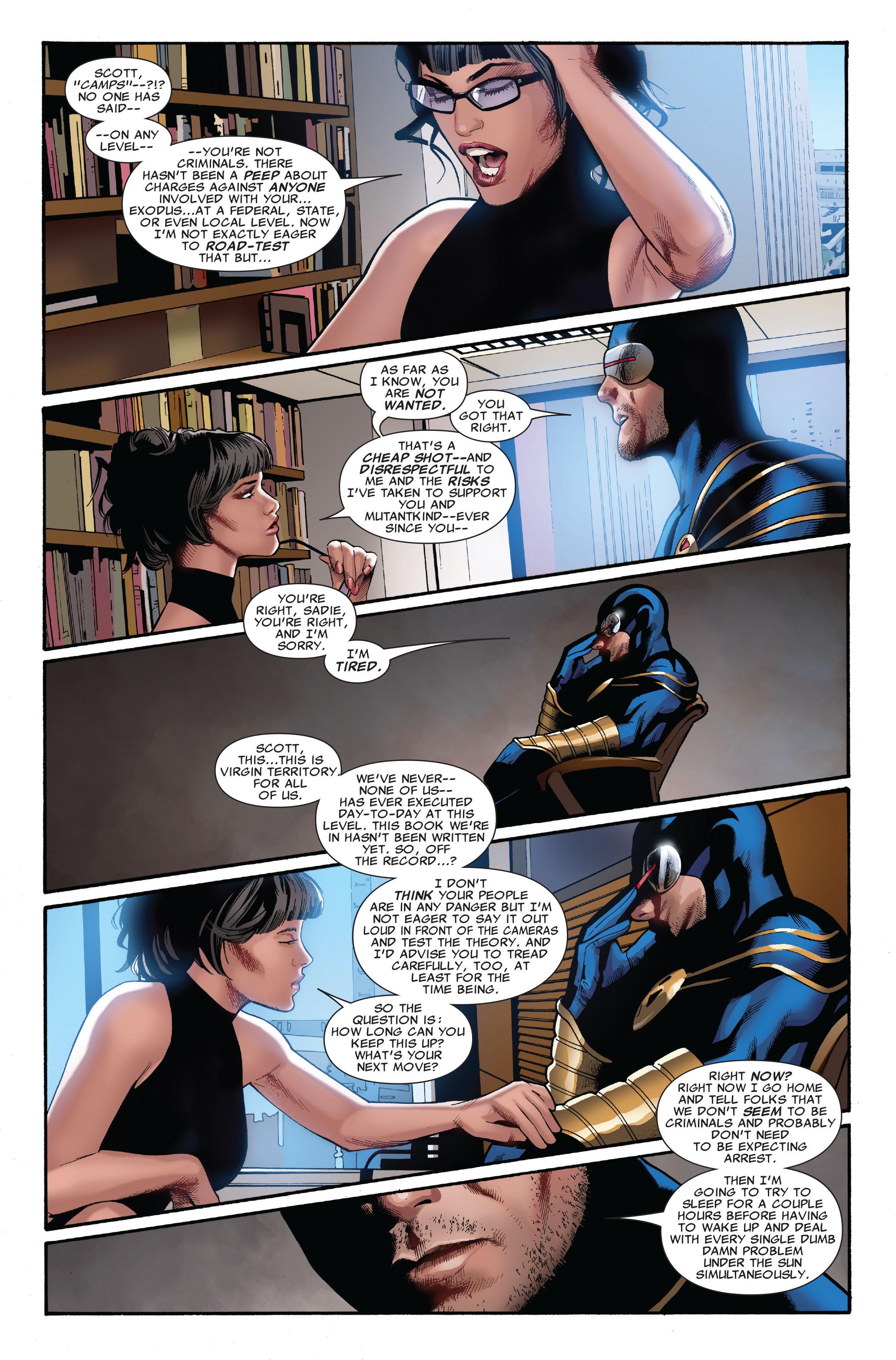 Read online Uncanny X-Men (1963) comic -  Issue #515 - 20