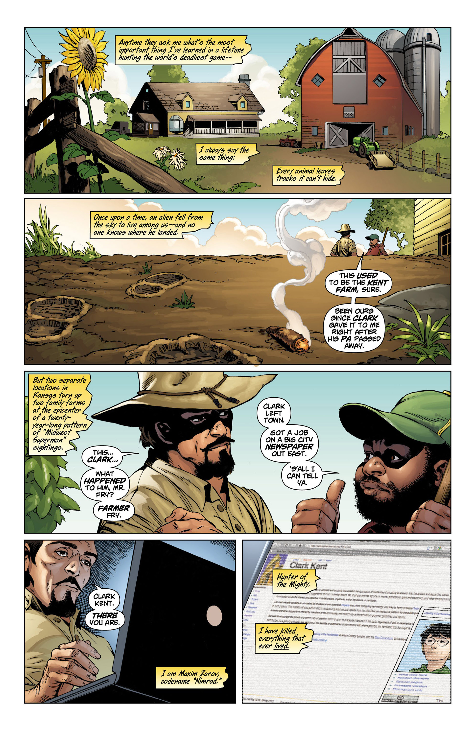 Read online Action Comics (2011) comic -  Issue #10 - 2