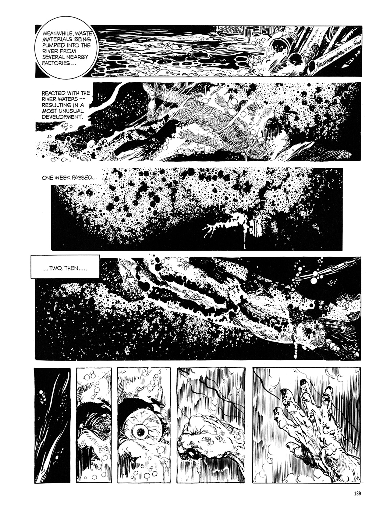 Read online Eerie Archives comic -  Issue # TPB 10 - 140