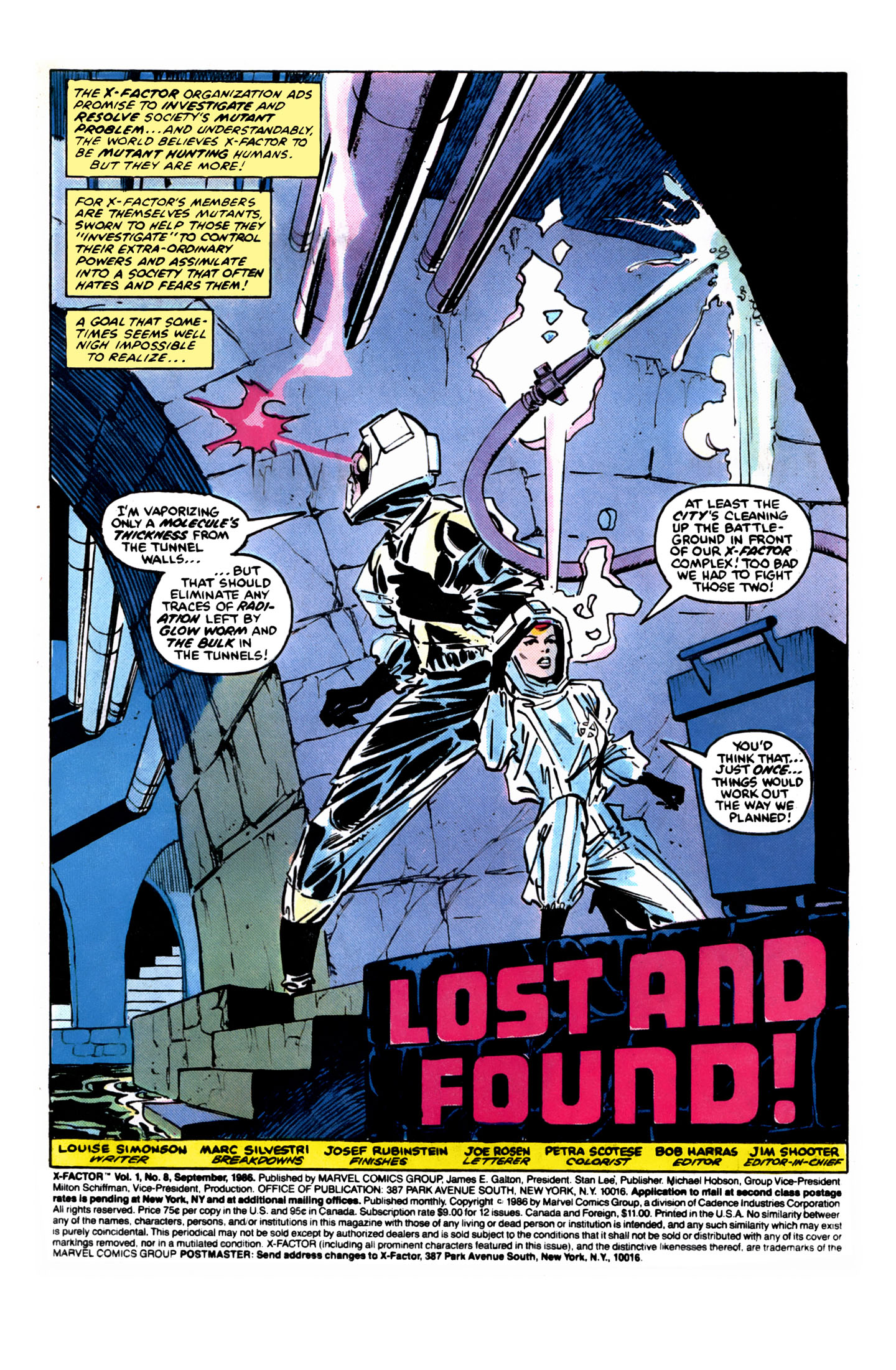 Read online X-Factor (1986) comic -  Issue #8 - 2