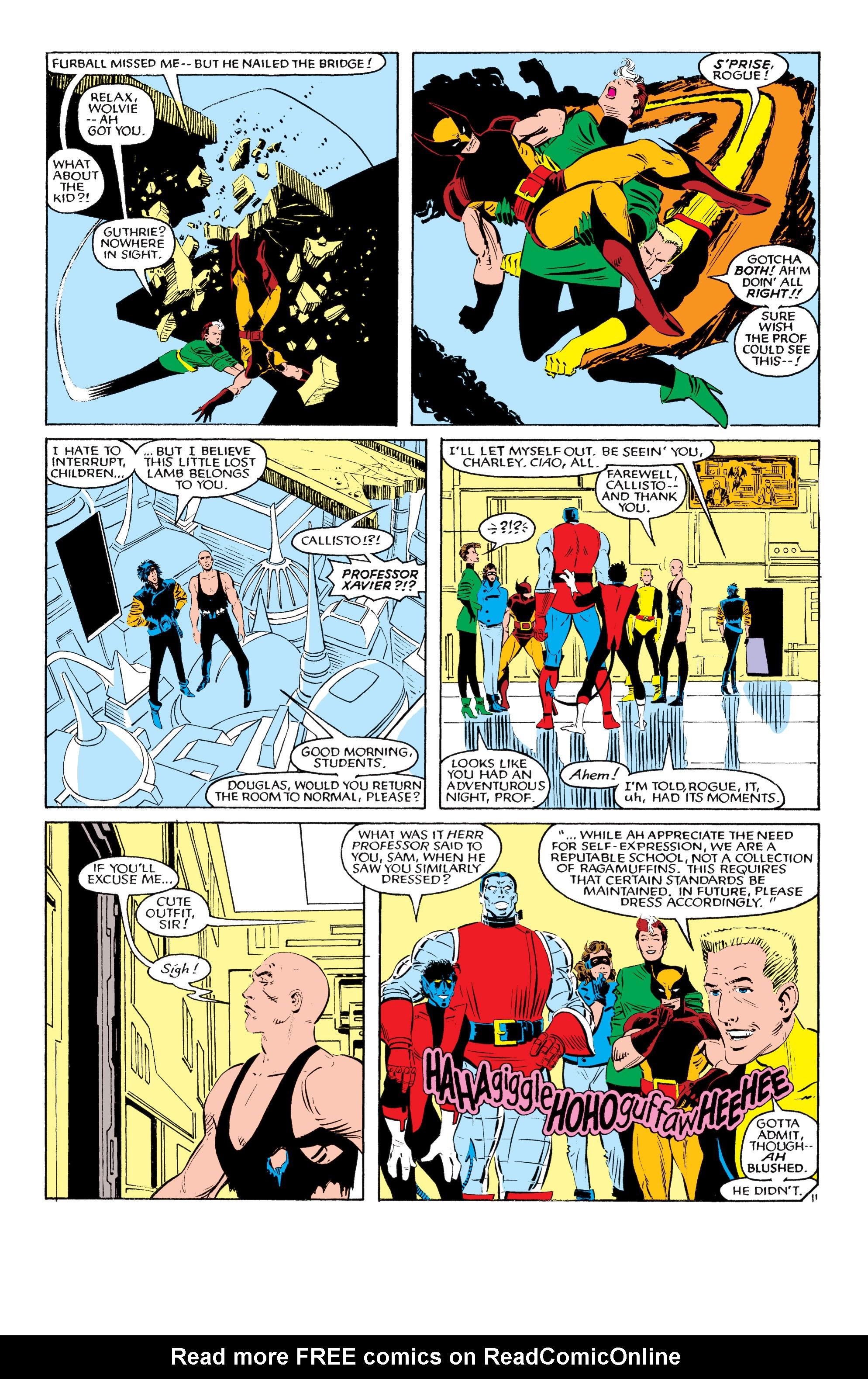 Read online Uncanny X-Men (1963) comic -  Issue #193 - 12