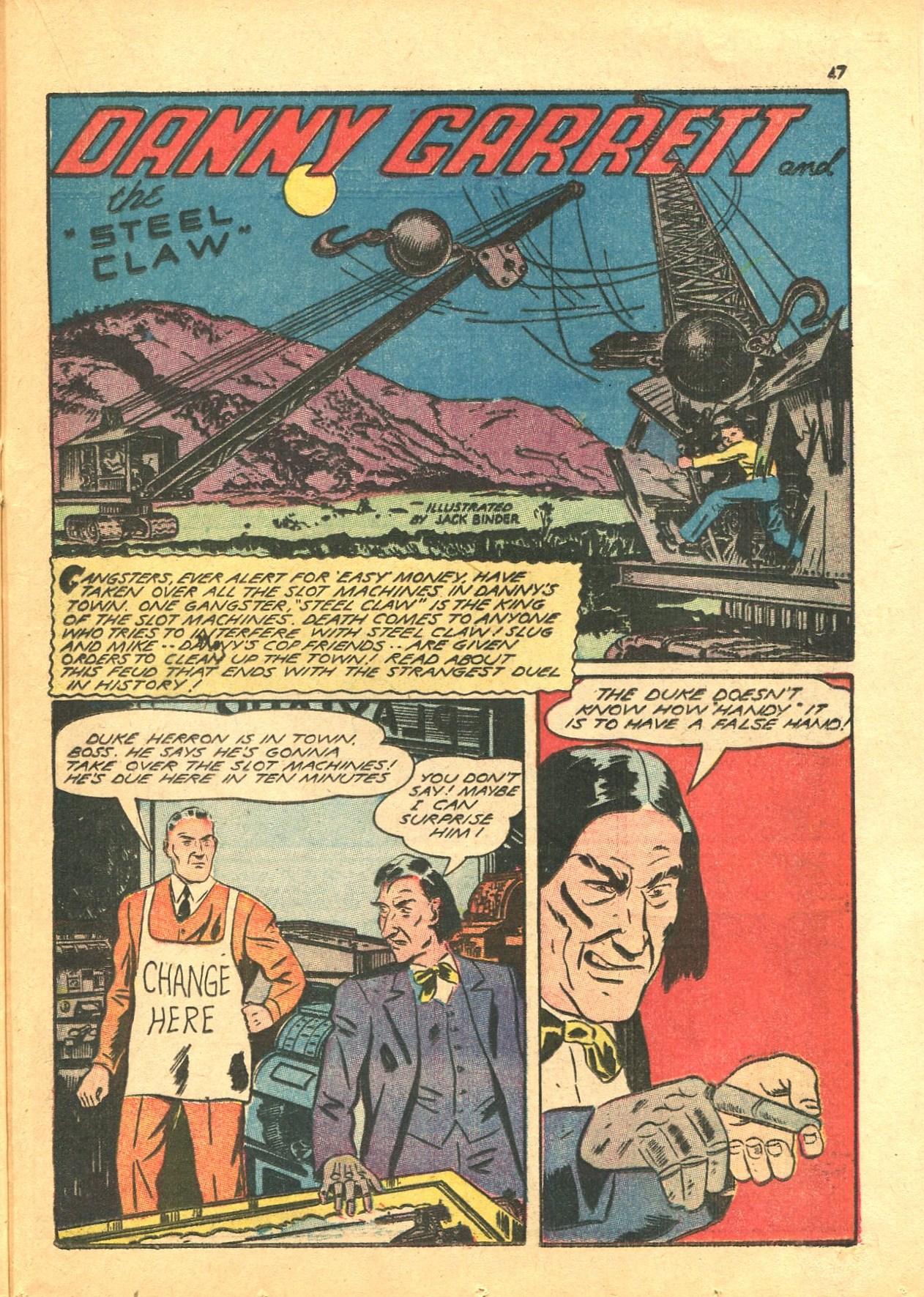Read online Shadow Comics comic -  Issue #24 - 39