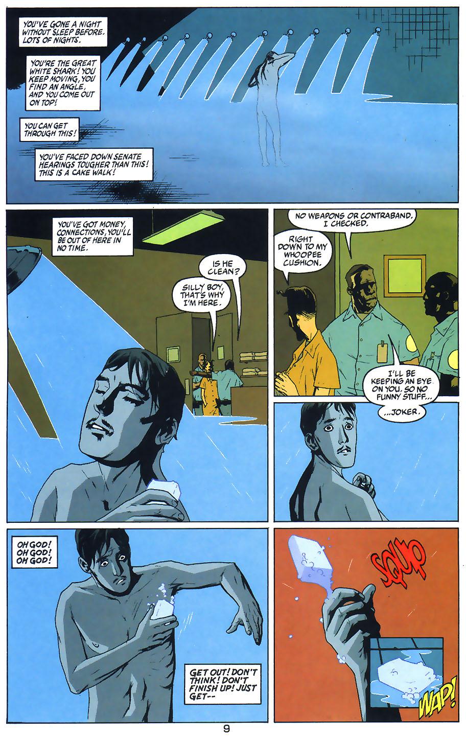 Read online Arkham Asylum: Living Hell comic -  Issue #1 - 11