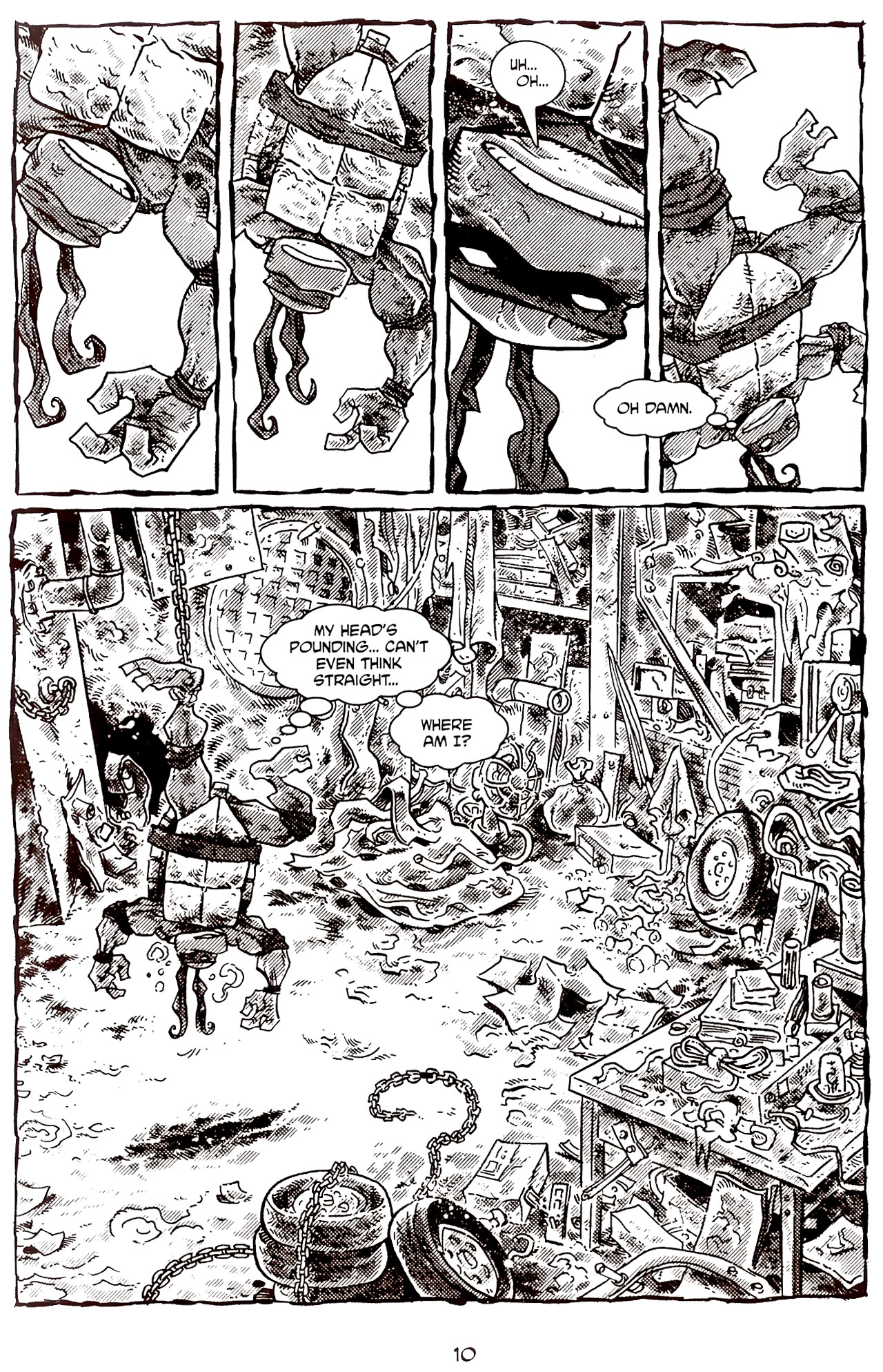 Read online Tales of the TMNT comic -  Issue #70 - 15