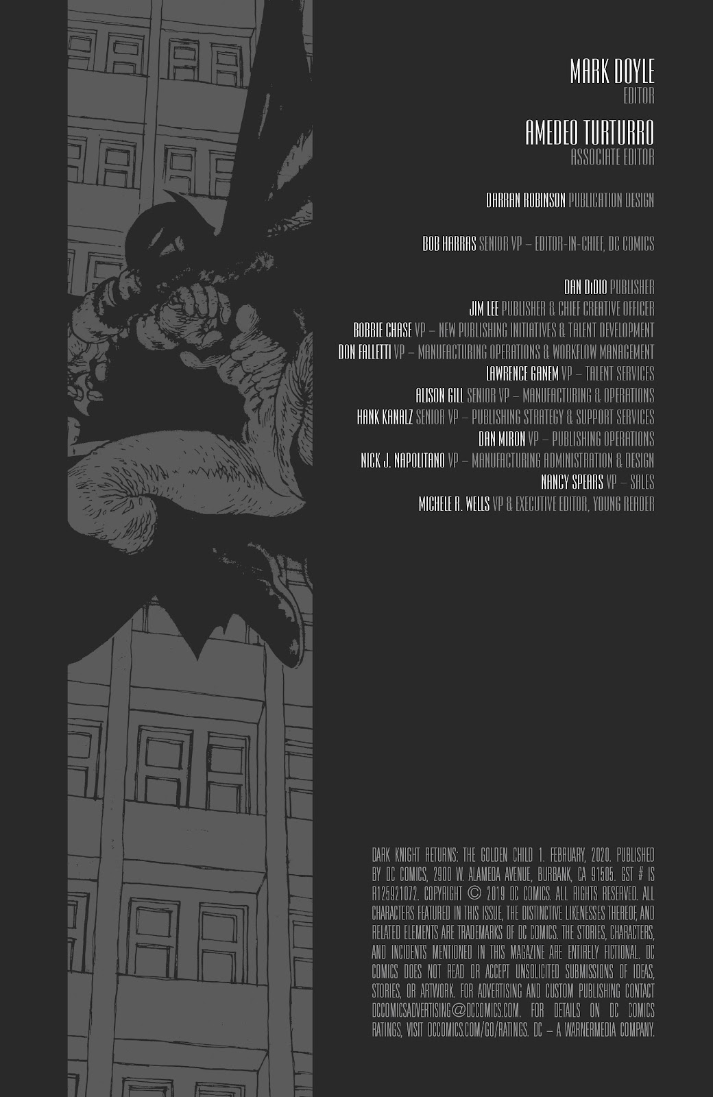 Dark Knight Returns: The Golden Child issue Full - Page 51