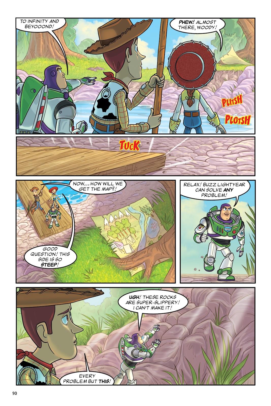 Read online DISNEY·PIXAR Toy Story Adventures comic -  Issue # TPB 1 (Part 1) - 90