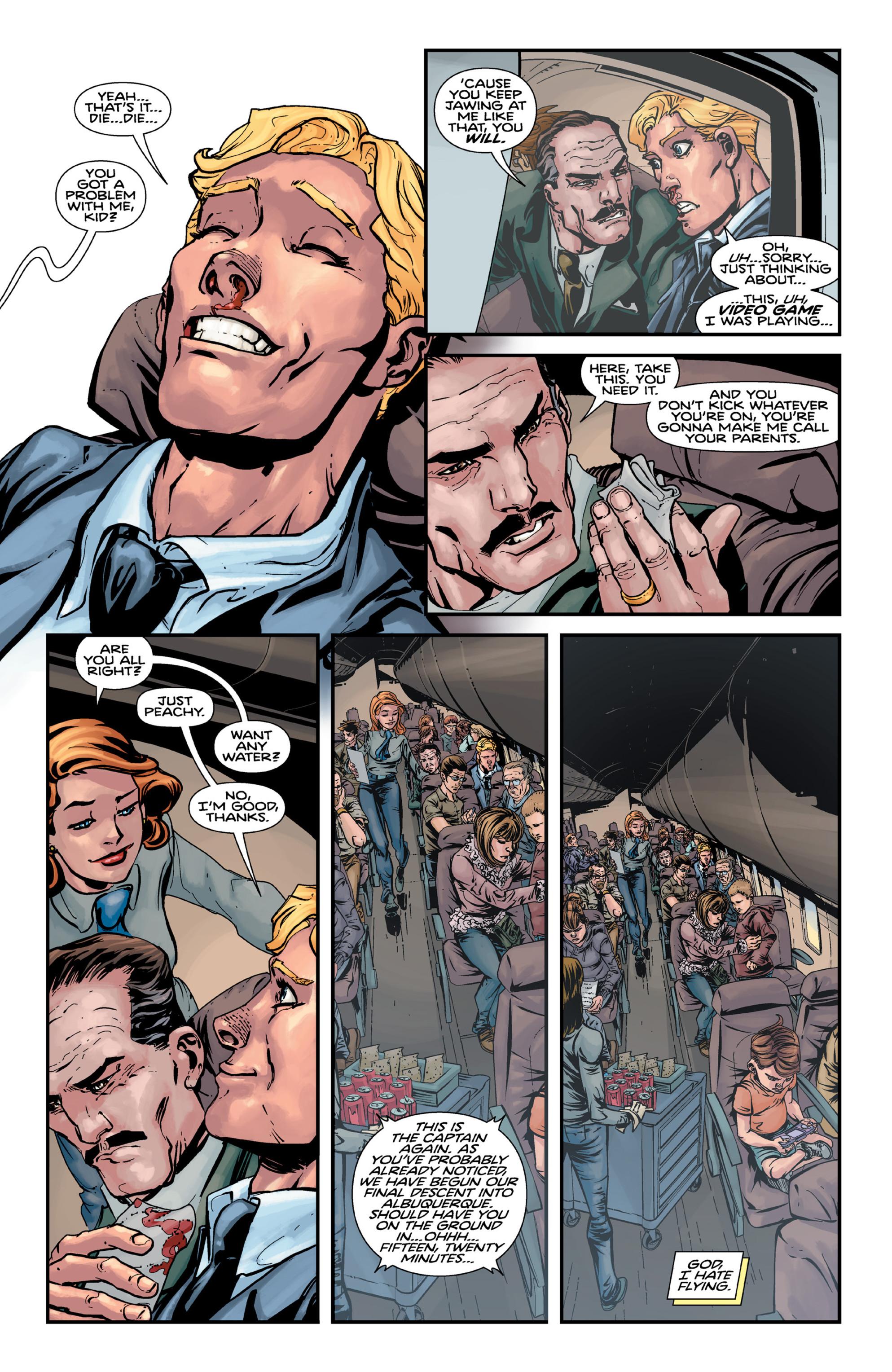Read online Brain Boy:  The Men from G.E.S.T.A.L.T. comic -  Issue # TPB - 39