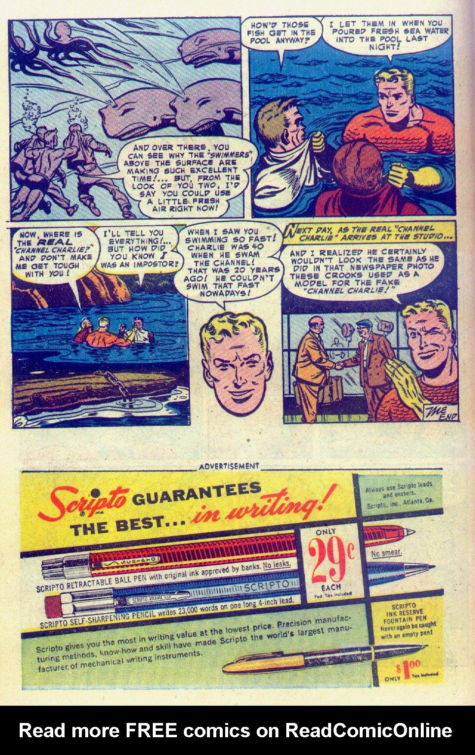 Read online Adventure Comics (1938) comic -  Issue #201 - 22