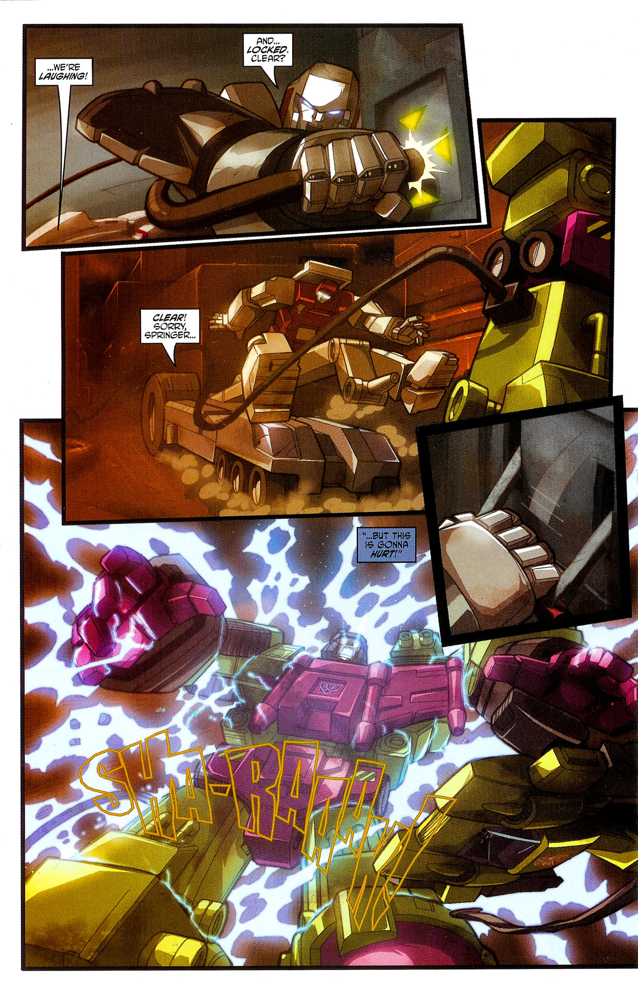"""Read online Transformers War Within: """"The Dark Ages"""" comic -  Issue #3 - 21"""
