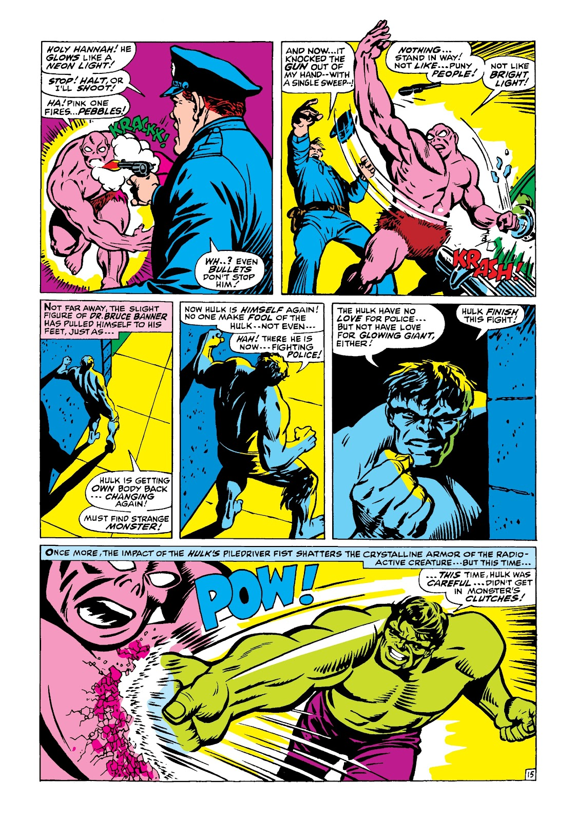 Read online Marvel Masterworks: The Incredible Hulk comic -  Issue # TPB 4 (Part 1) - 64
