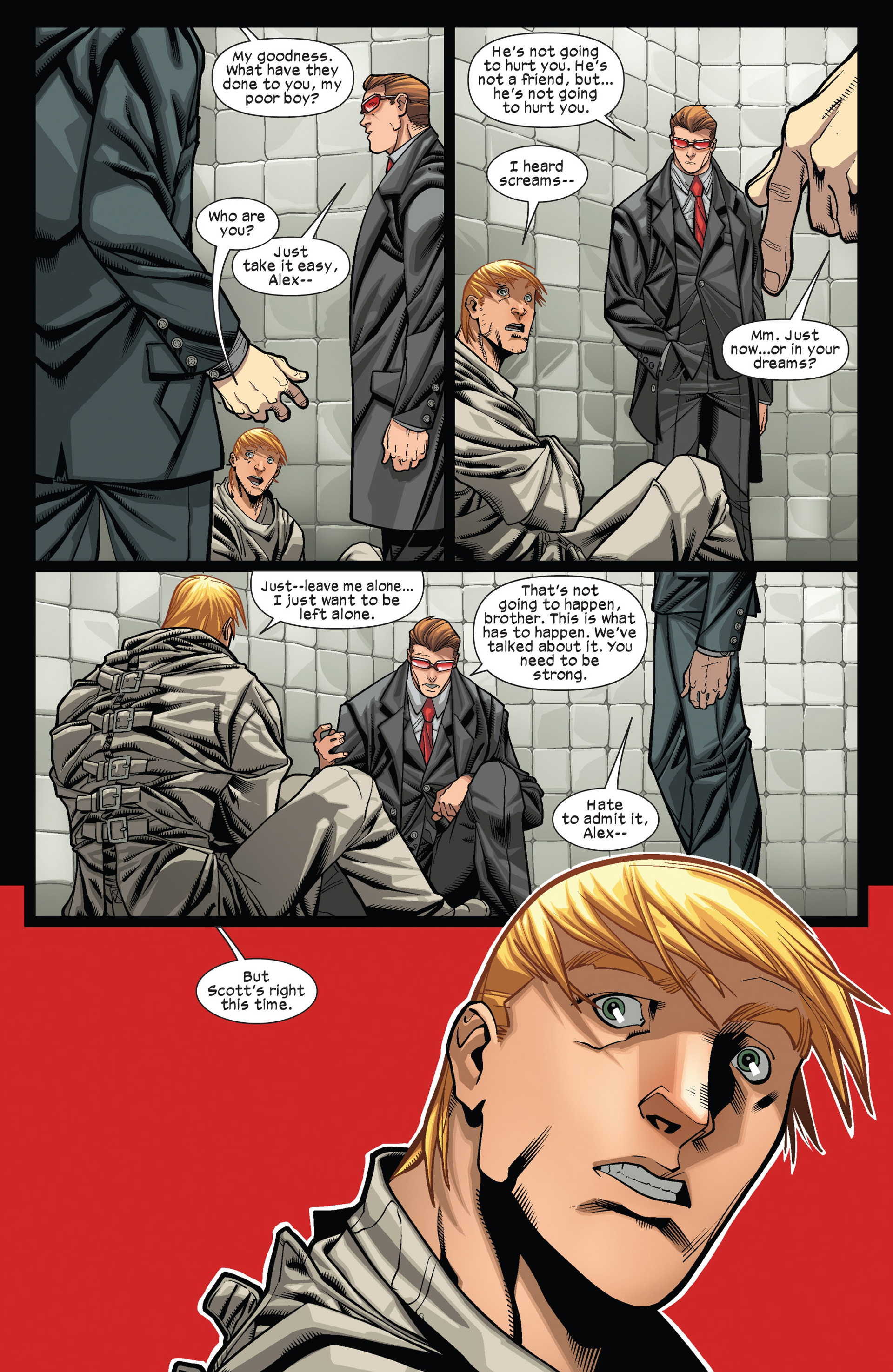Read online Ultimate Comics X-Men comic -  Issue #12 - 12