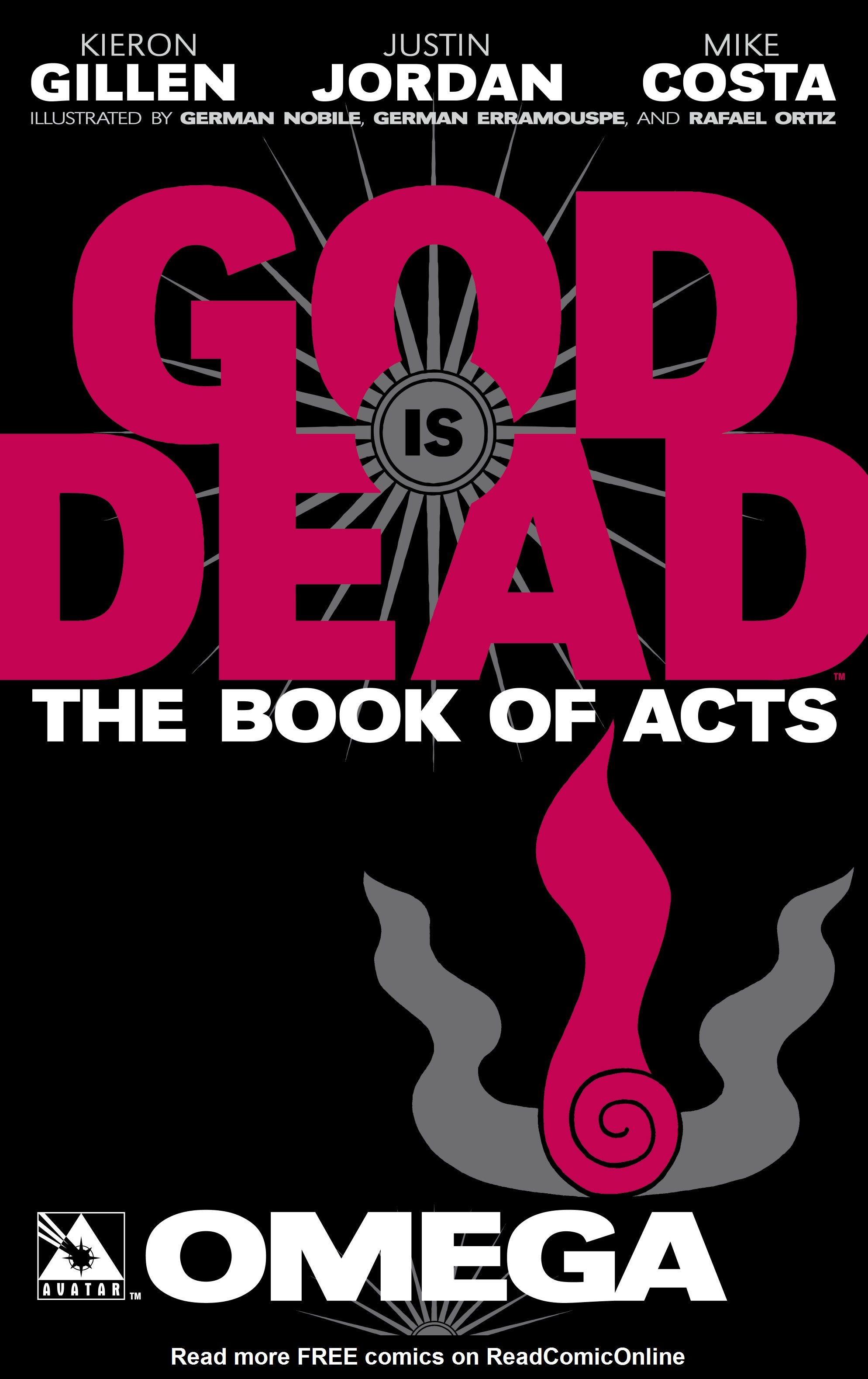 Read online God is Dead: Book of Acts comic -  Issue # Omega - 1
