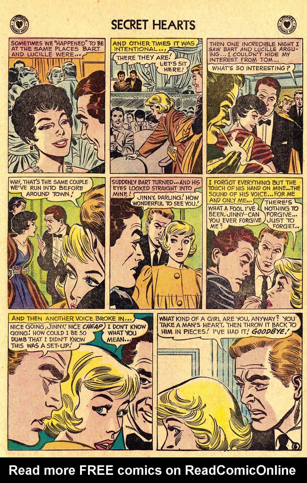 Read online Secret Hearts comic -  Issue #60 - 8