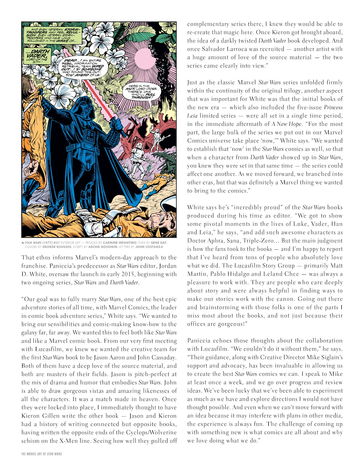Read online The Marvel Art of Star Wars comic -  Issue # TPB (Part 1) - 7