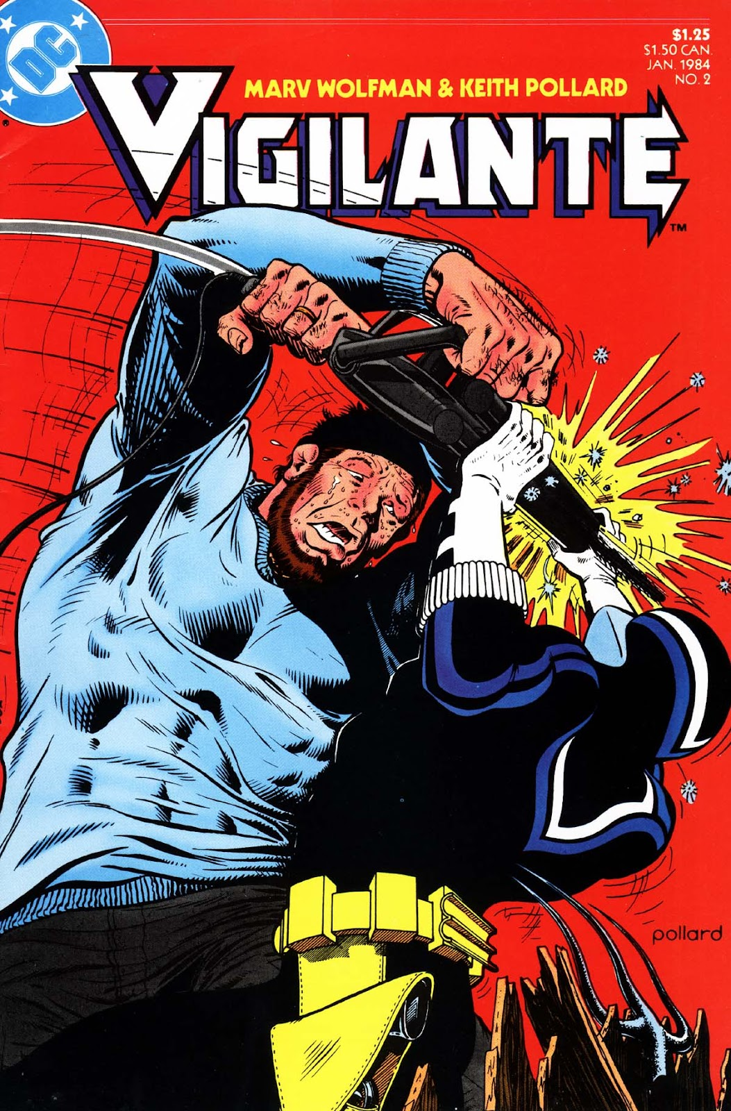Vigilante (1983) issue 2 - Page 1