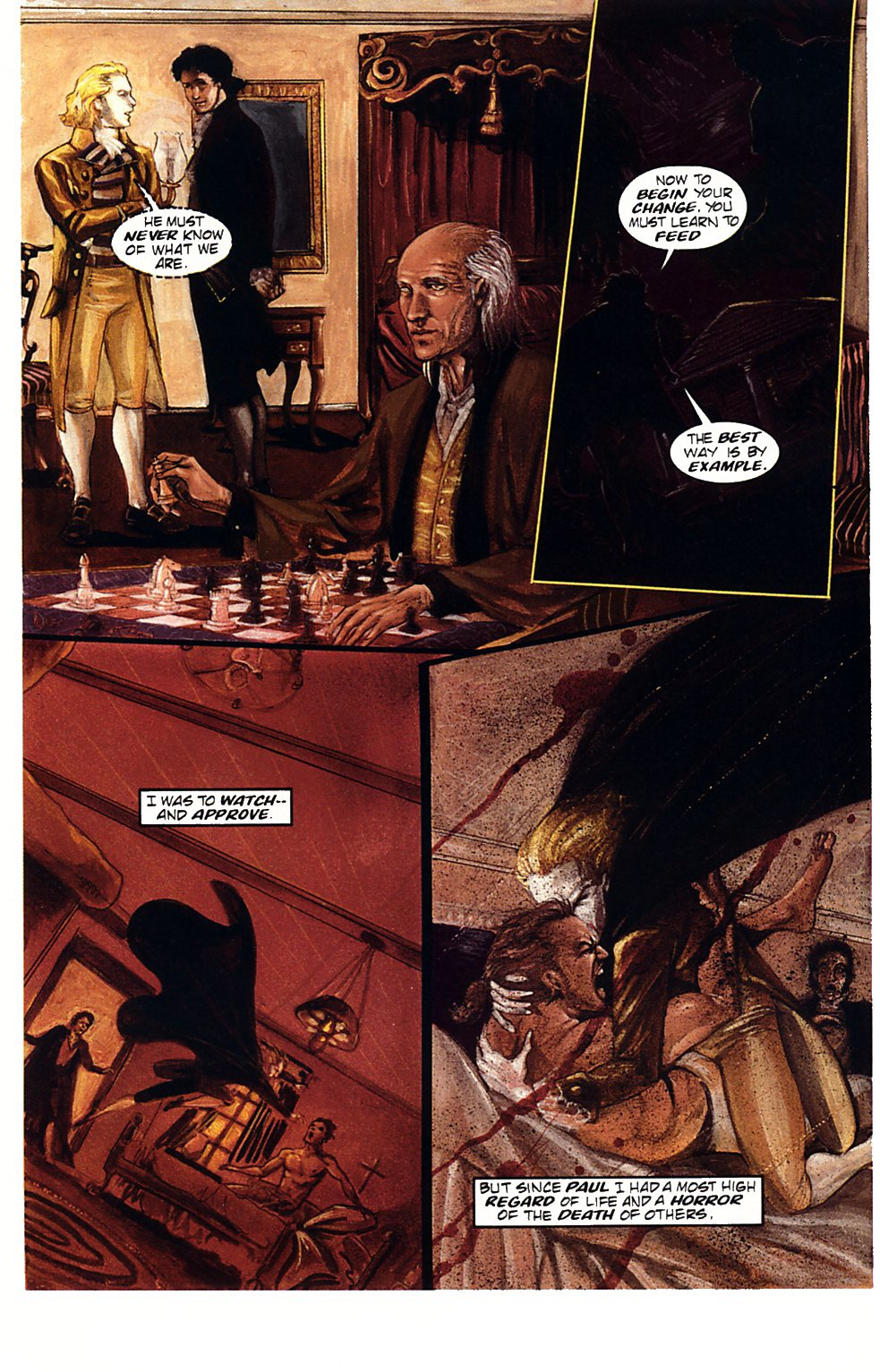 Read online Anne Rice's Interview with the Vampire comic -  Issue #1 - 16