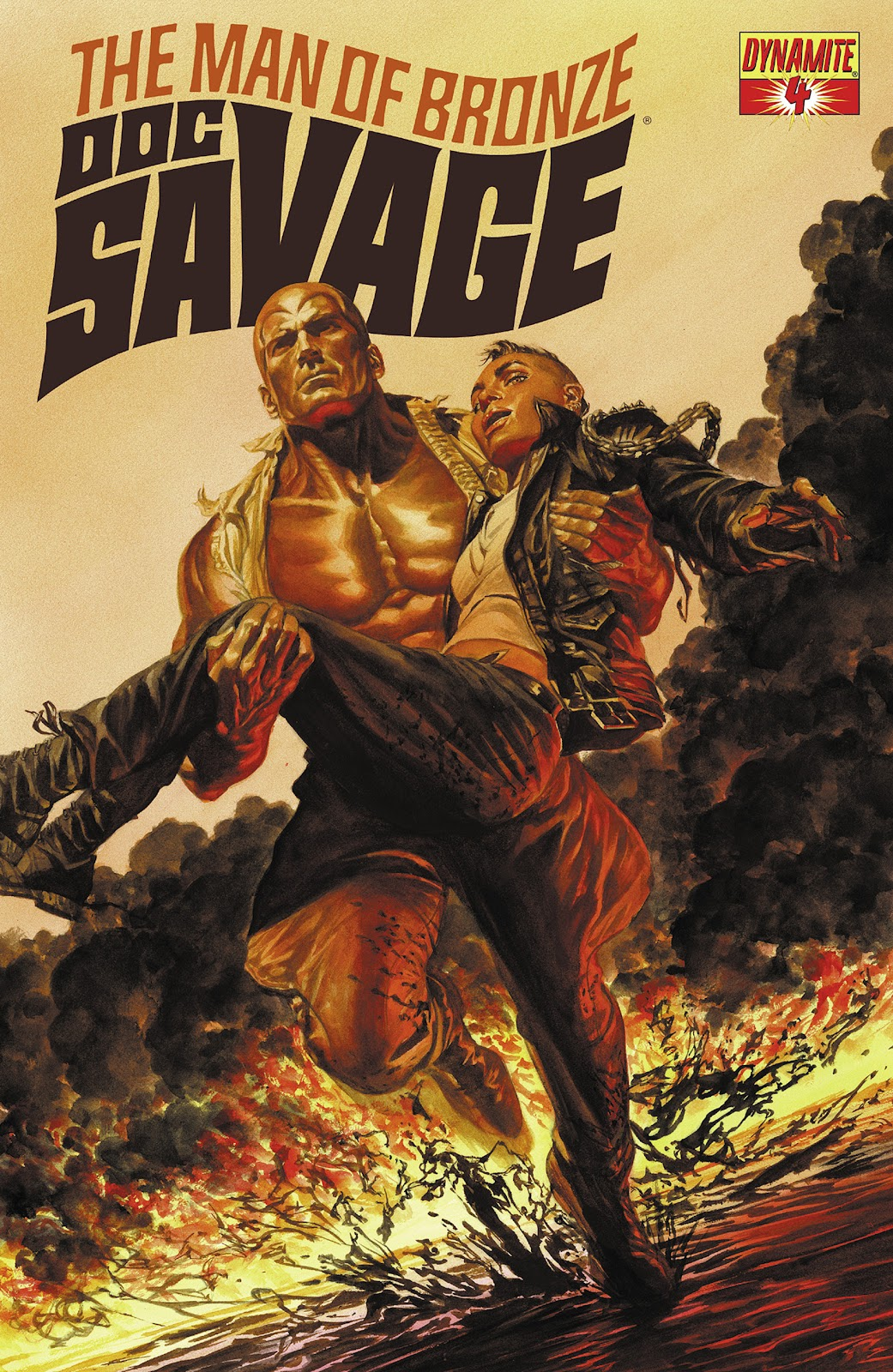 Doc Savage (2013) issue 4 - Page 1
