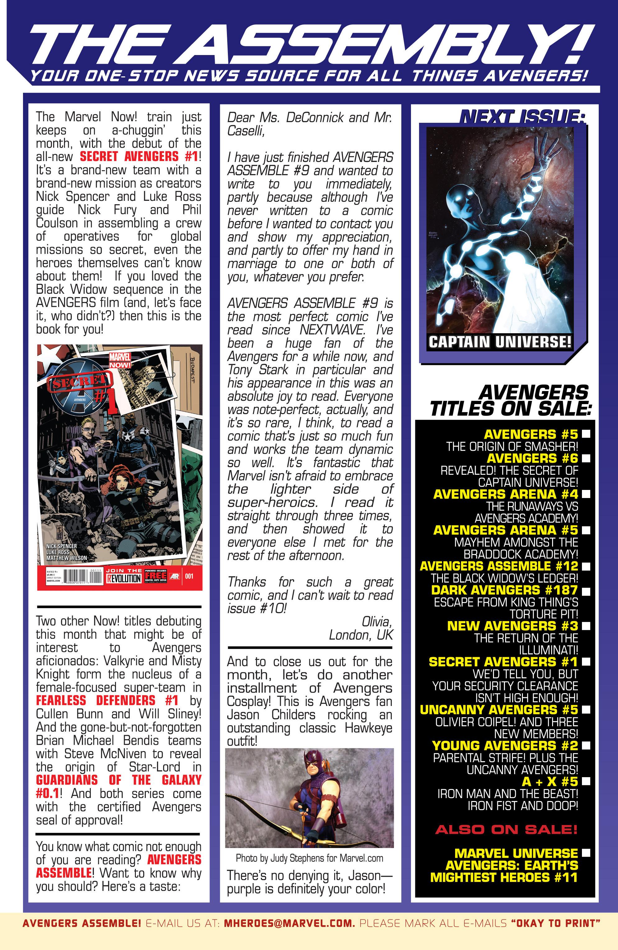 Read online Avengers (2013) comic -  Issue #Avengers (2013) _TPB 1 - 126